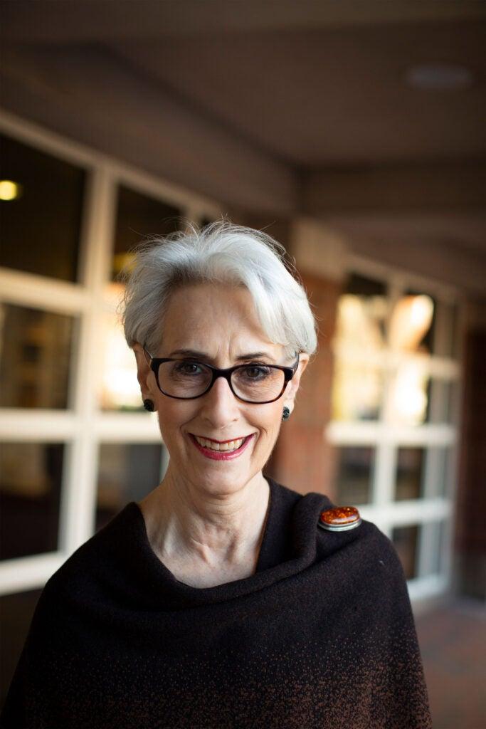 Former Ambassador Wendy Sherman.