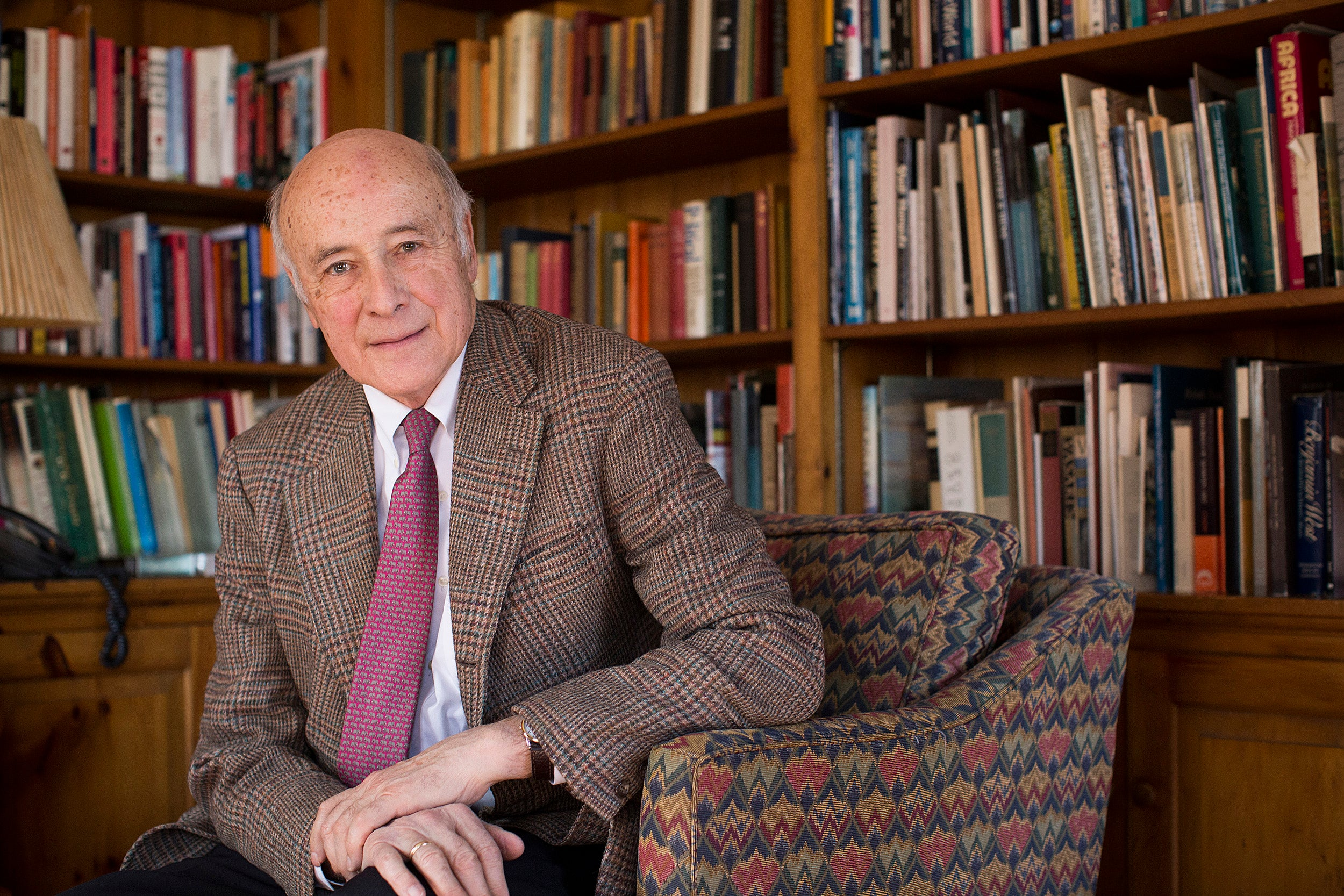 In new book, Nye rates presidents on foreign policy ethics