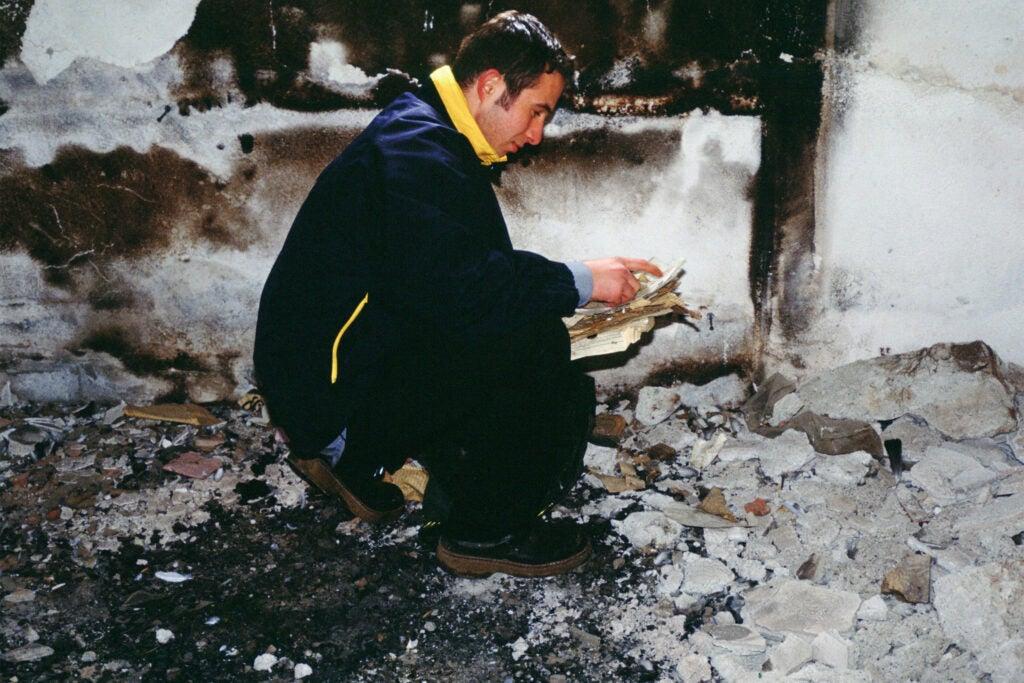 Burned books considered sacred.
