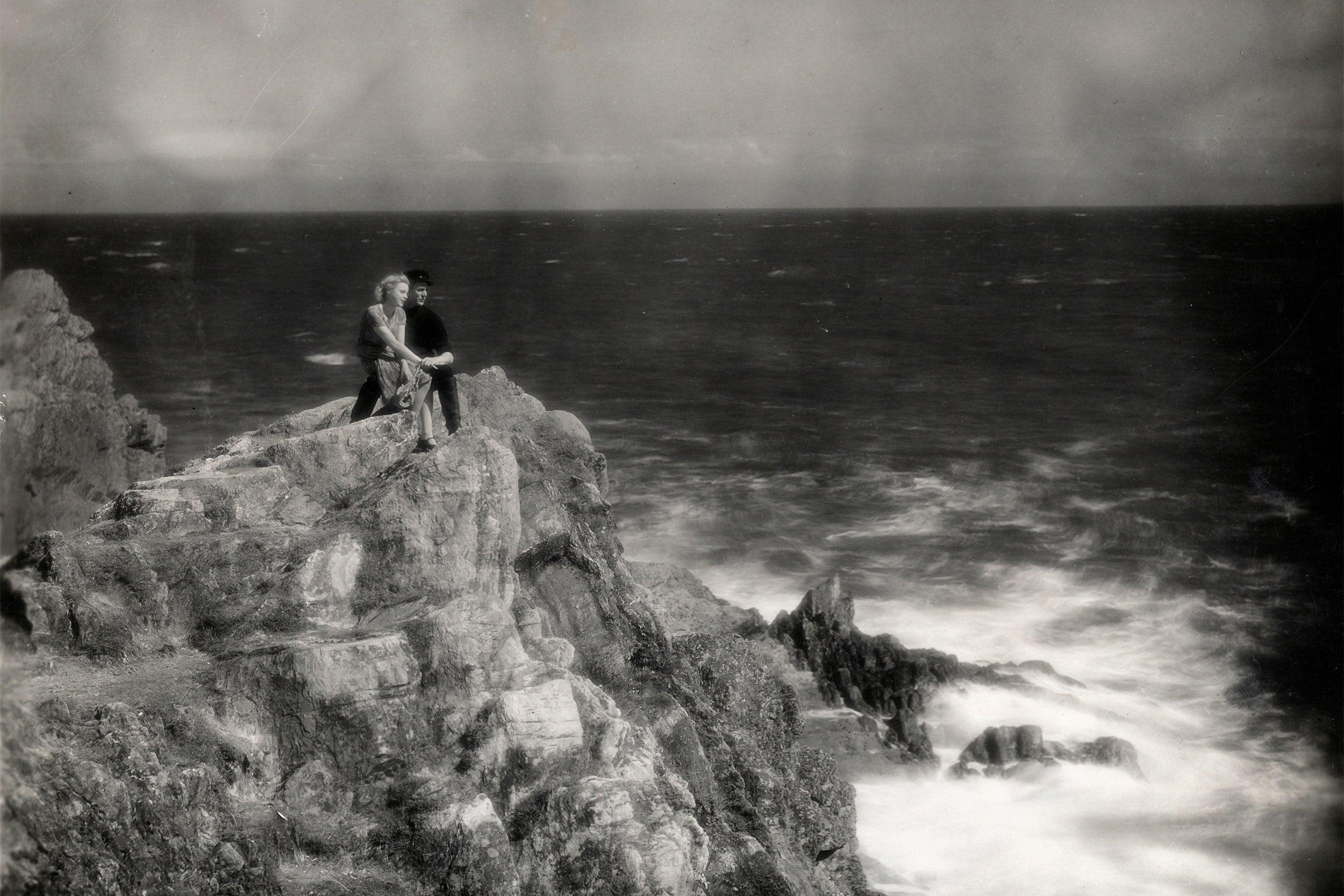 "Still from Alfred Hitchcock's ""Manxman."""