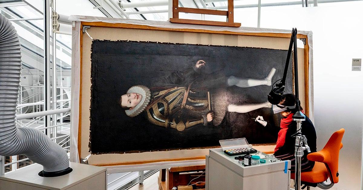 Harvard Art Museums restores King Philip III portrait