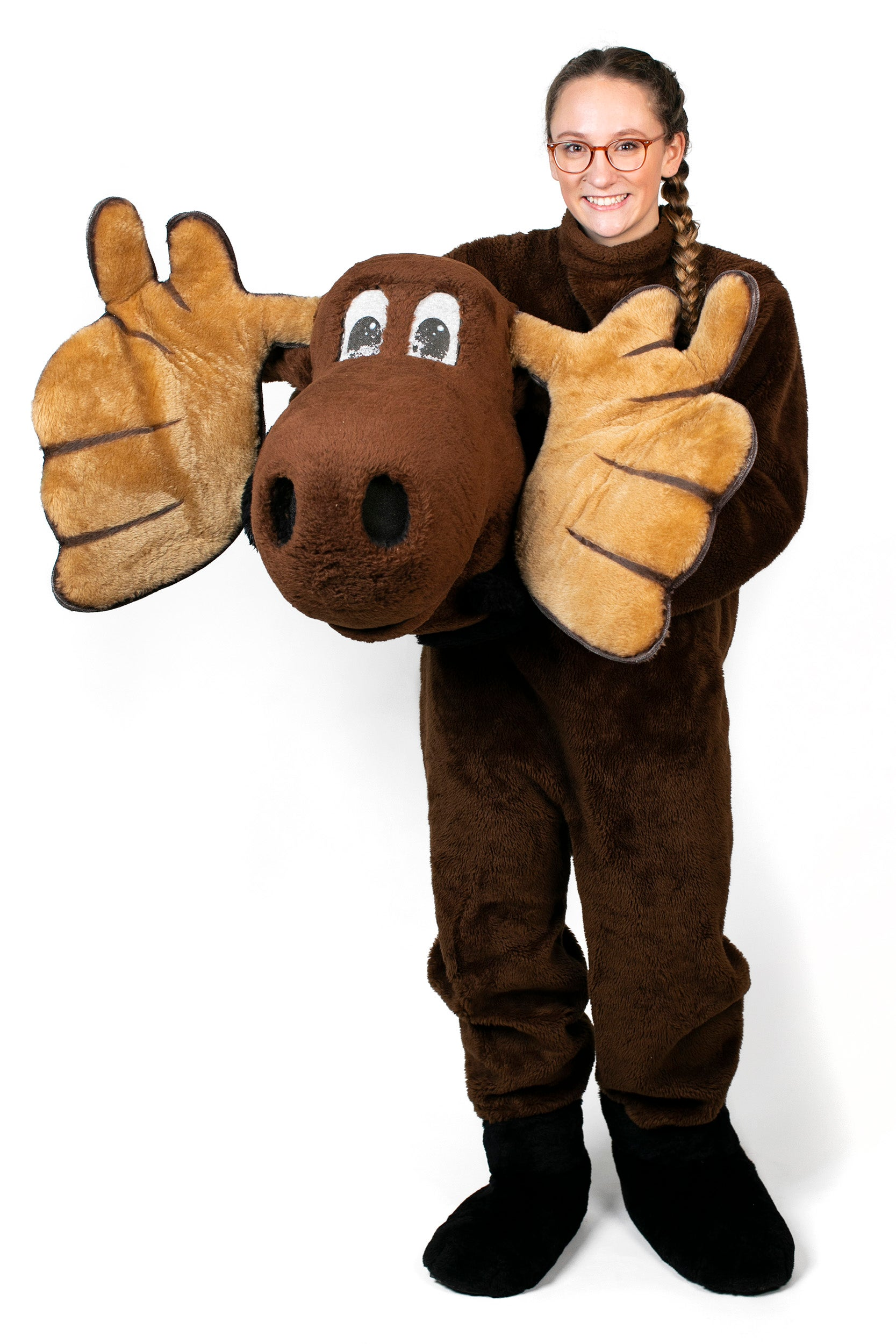 Bella Beckett (dresses as the Moose Mascot for Dunster House.