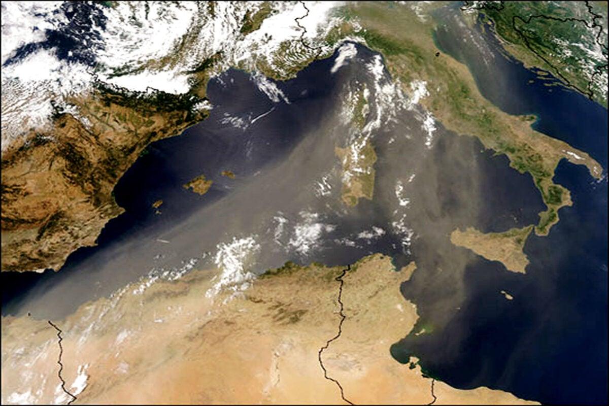 NASA map.