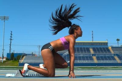 Vegan runner set to take off.