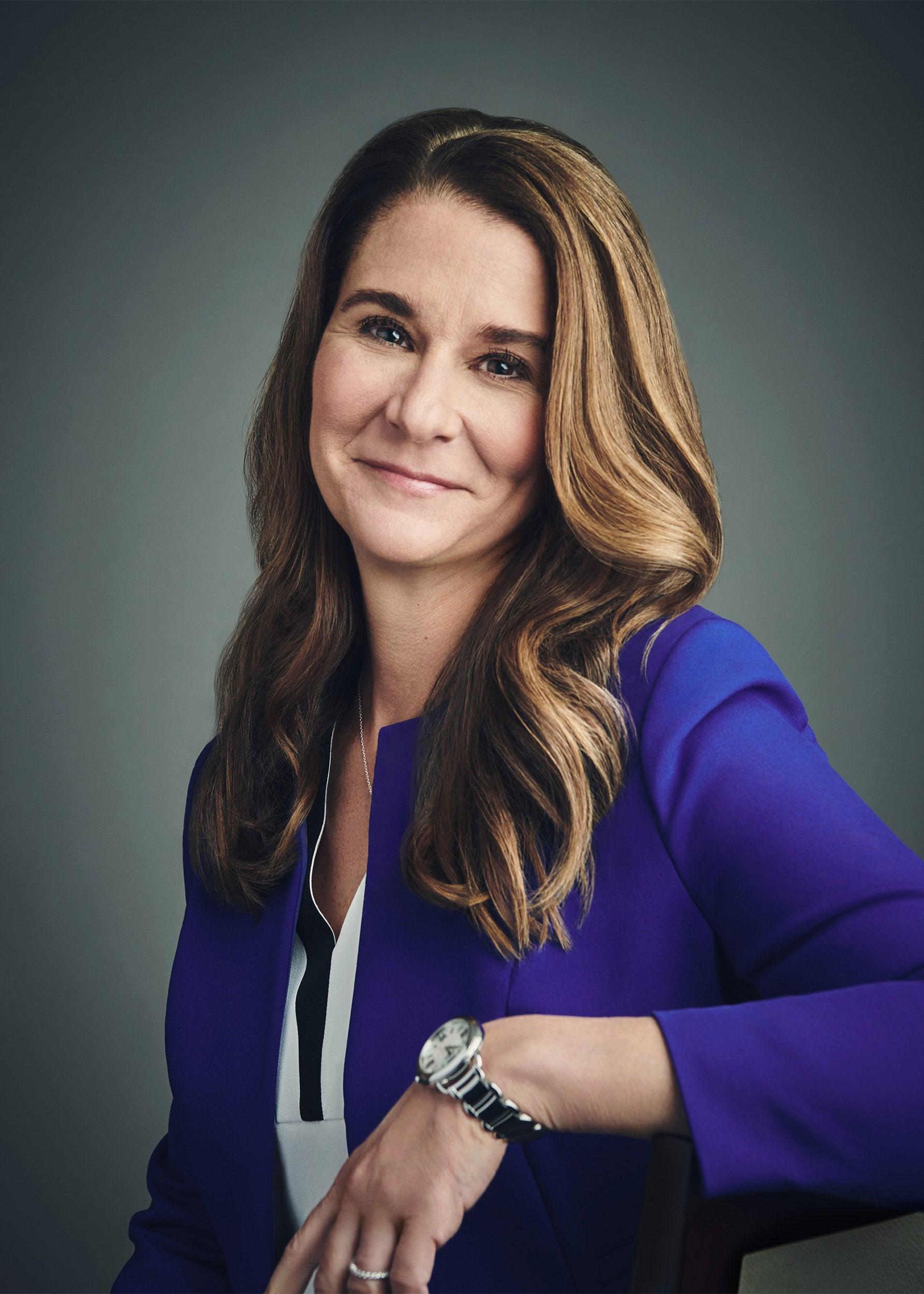 Melinda Gates portrait.