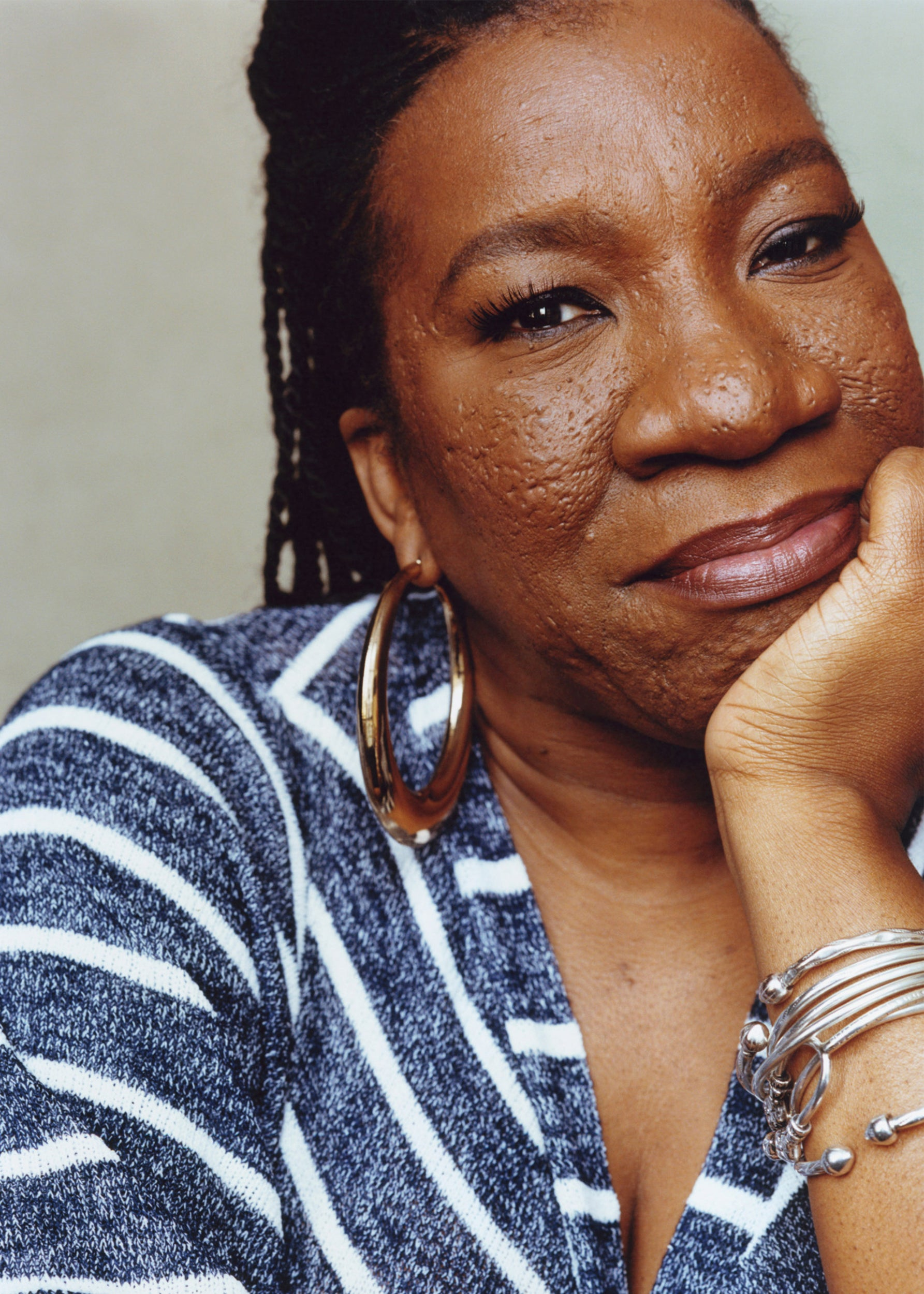 Tarana Burke portrait for Me Too.
