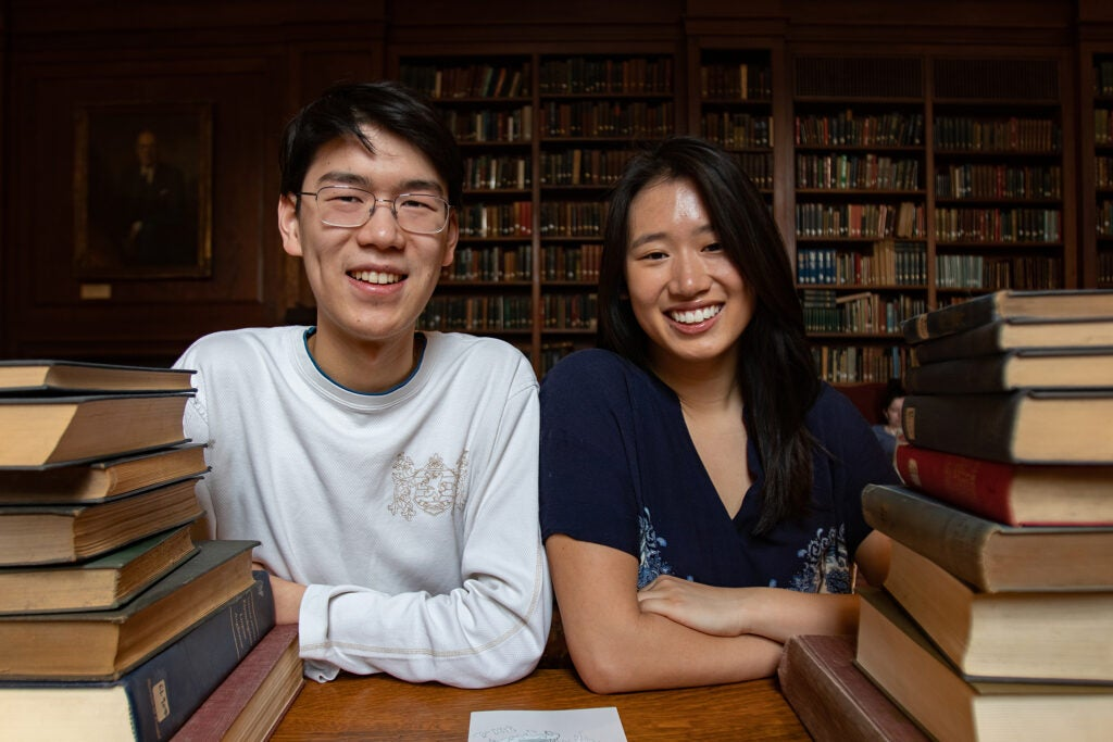 Jerrica Li and Eric Zhou.