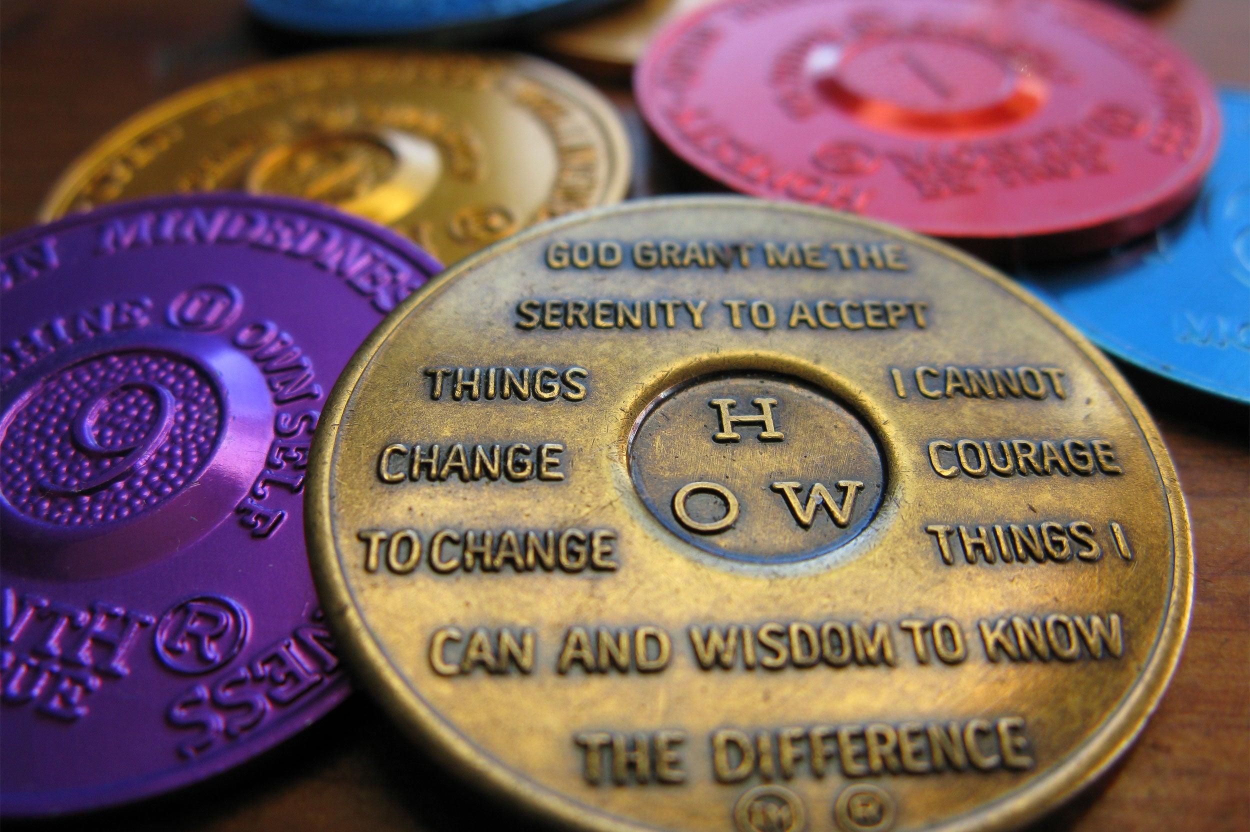 AA medallions