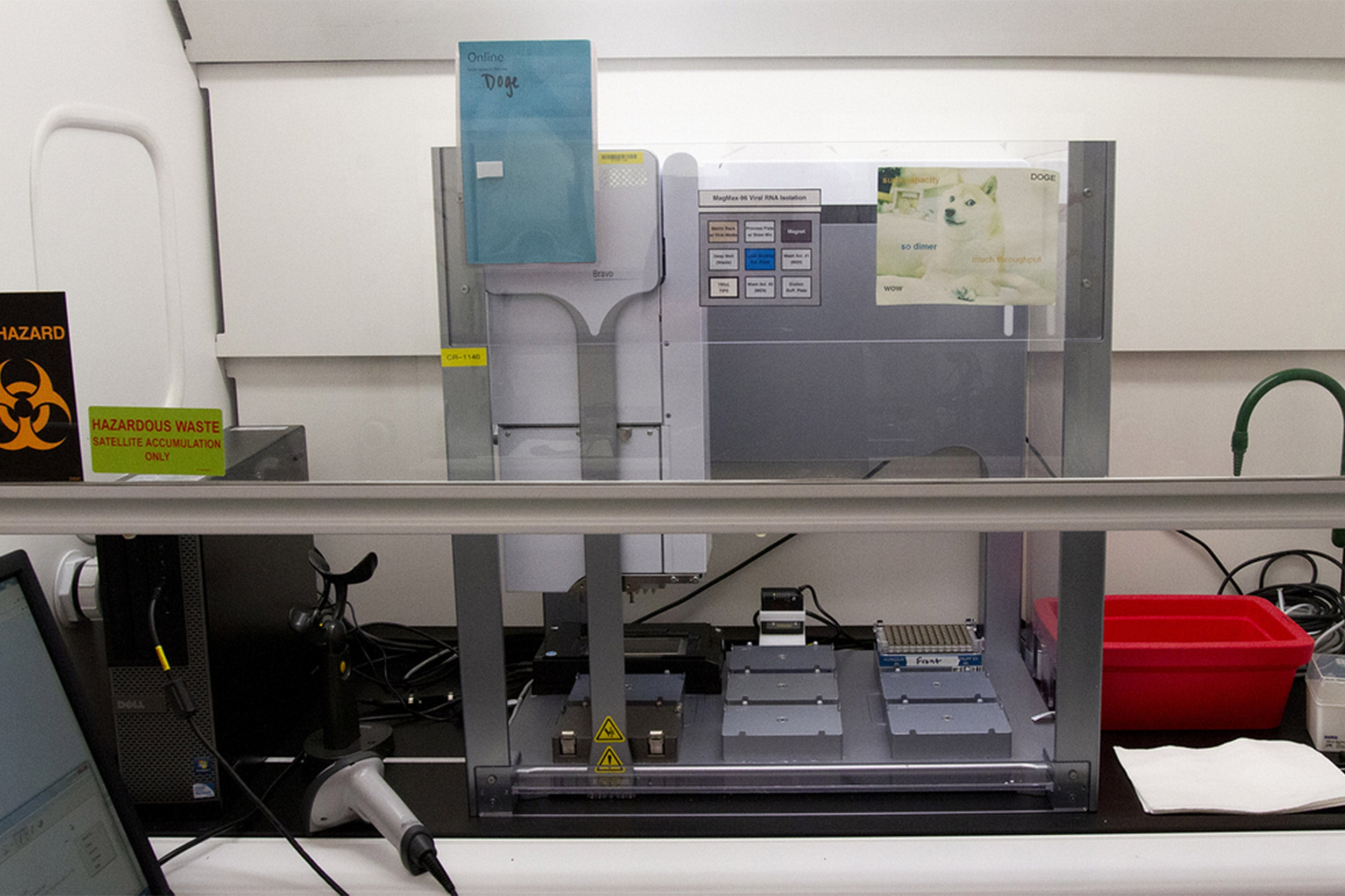 Lab equipment.