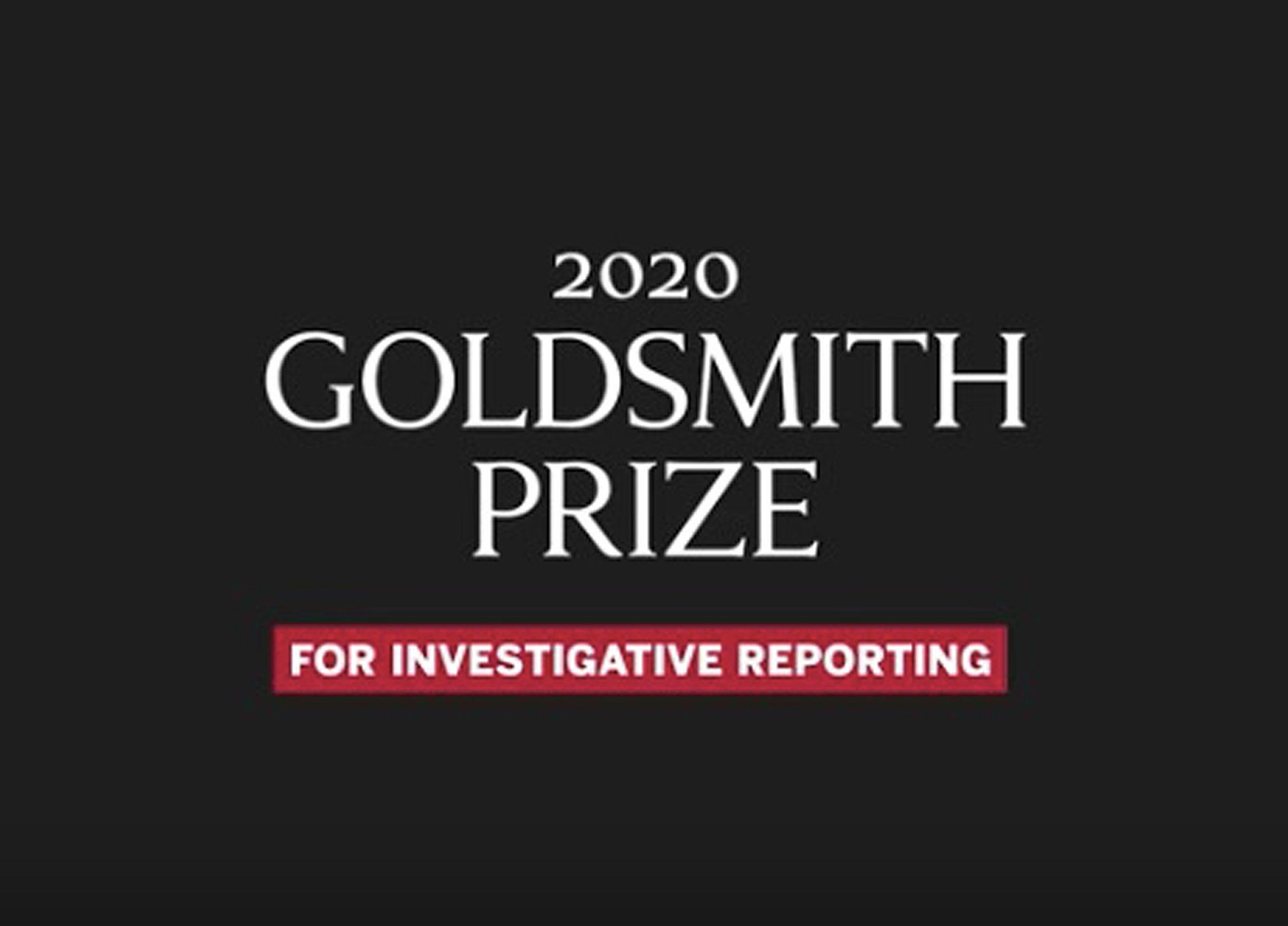 Goldsmith Prize.