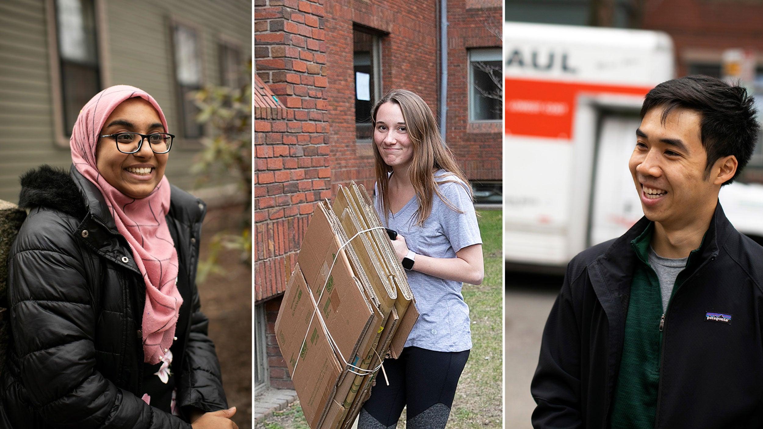 Tajrean Rahman, Hannah Thurlby, and Victor Qin.