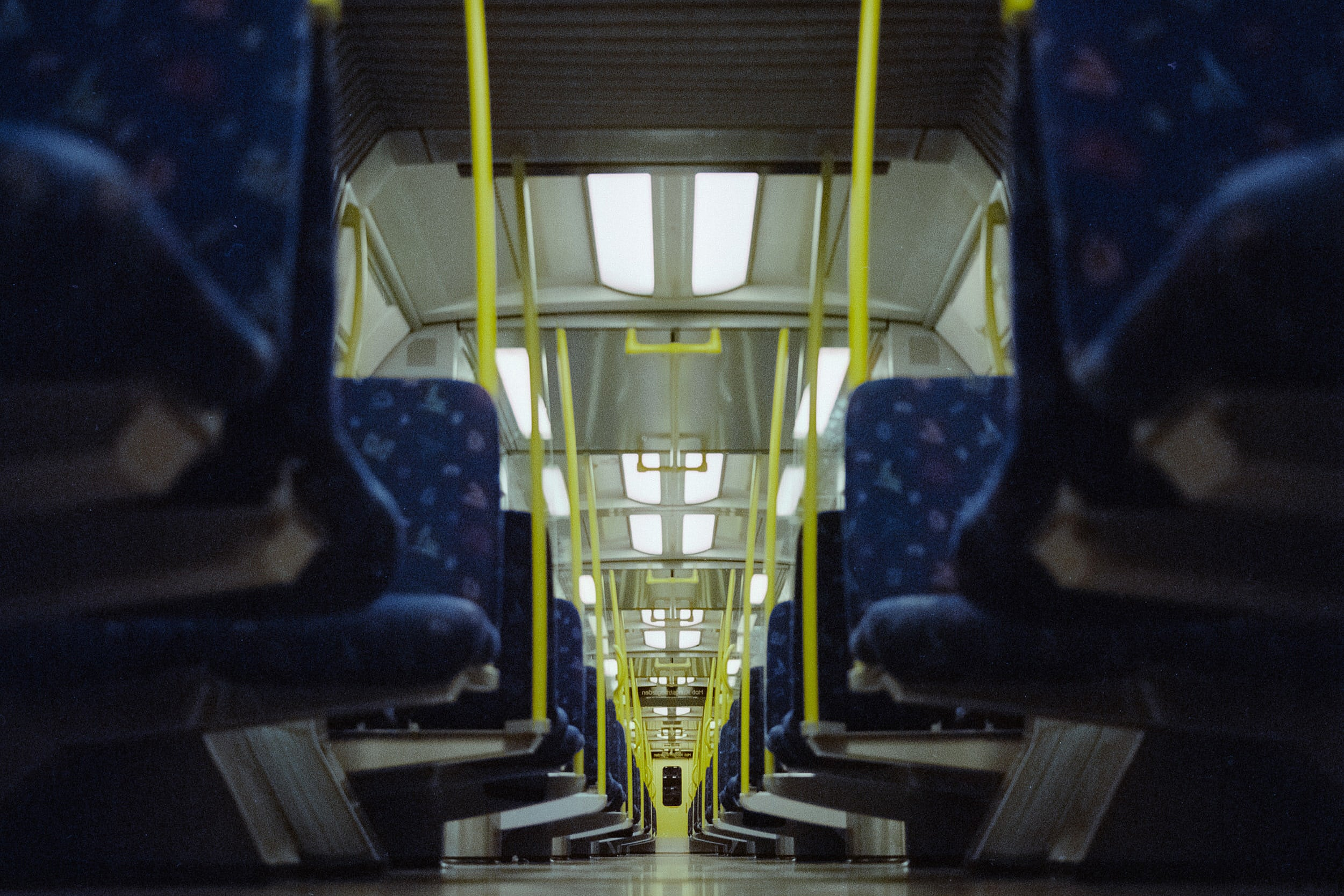 empty subway.