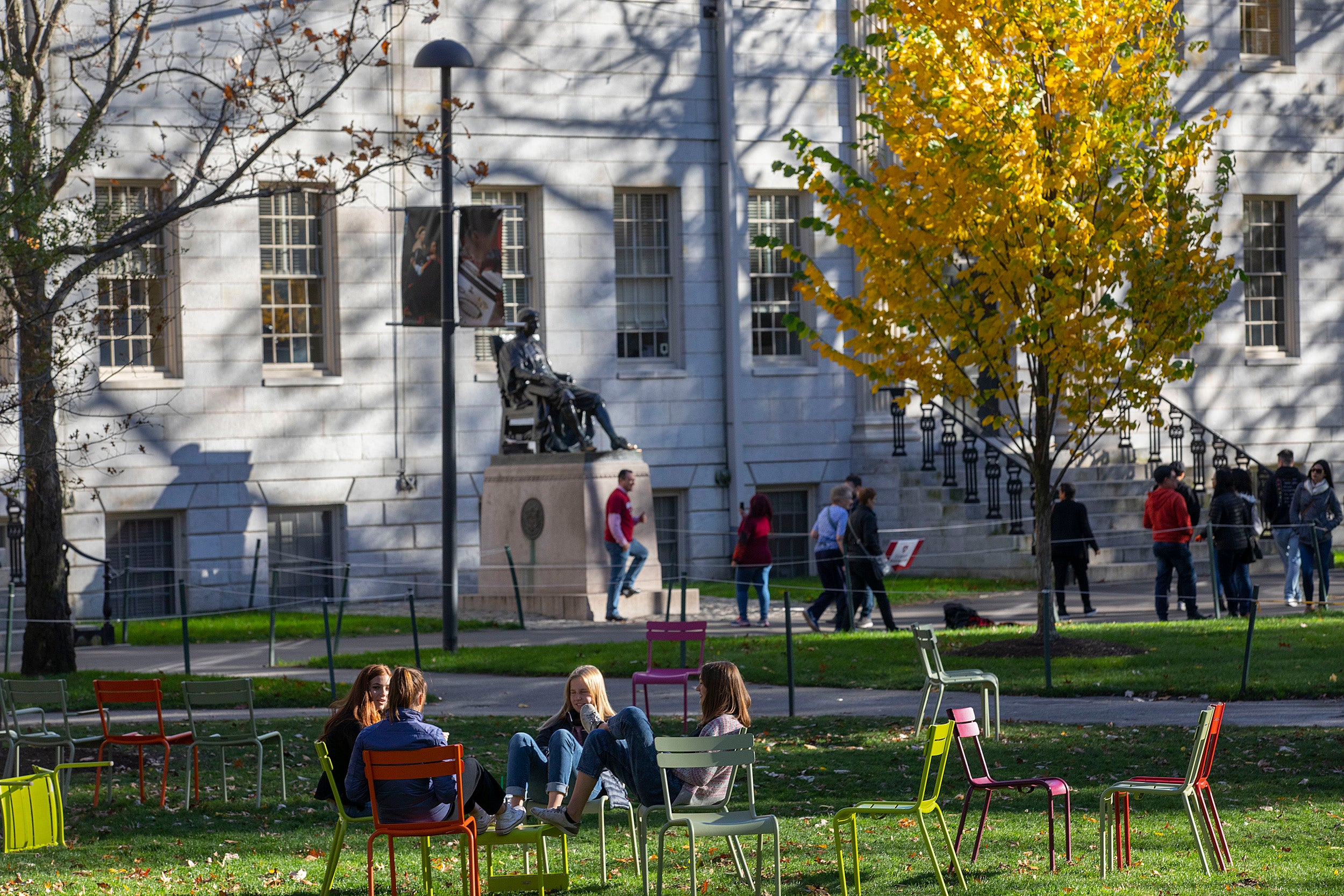 Harvard endowment to go greenhouse gas-neutral by 2050