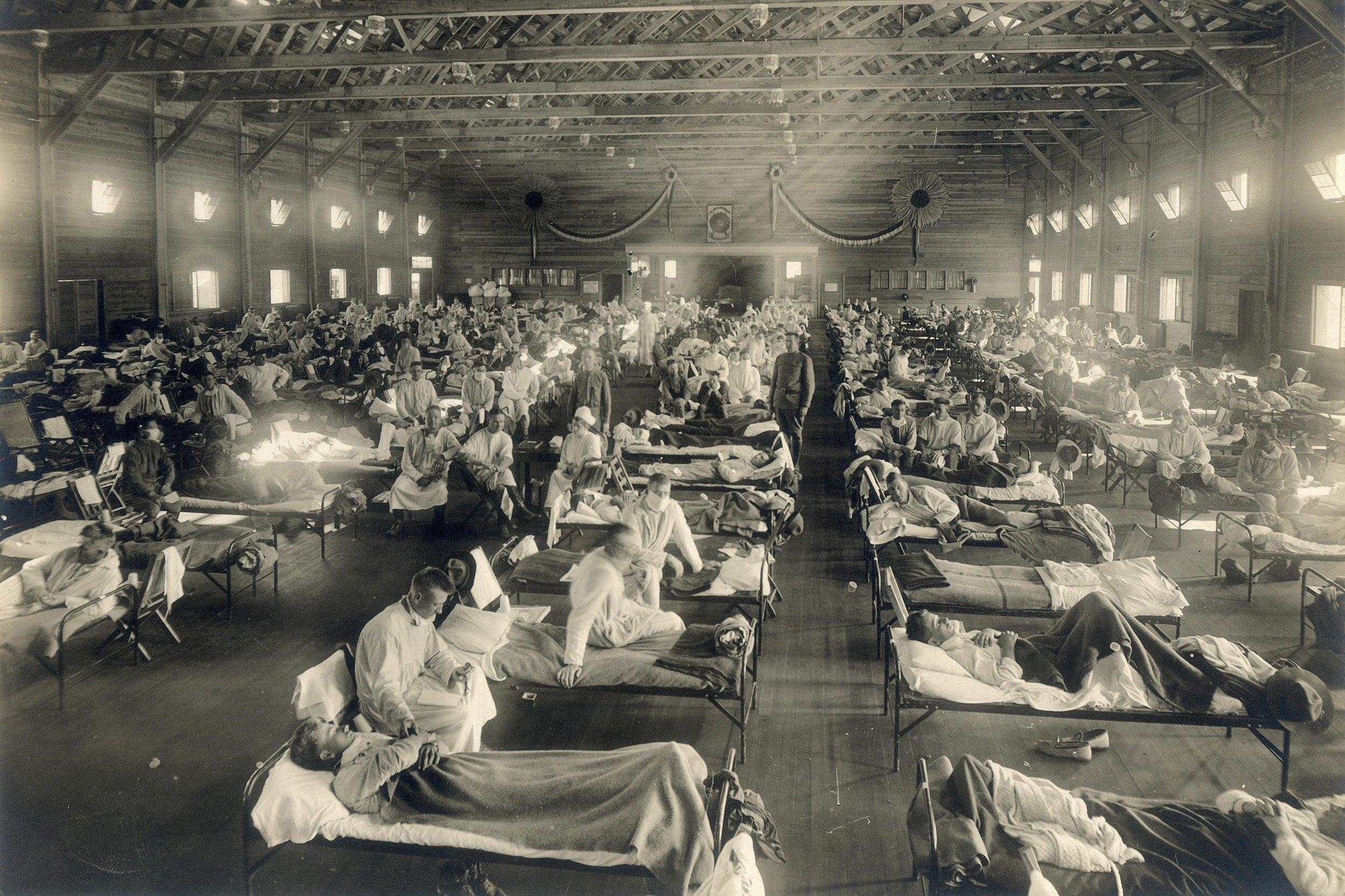 Emergency hospital.