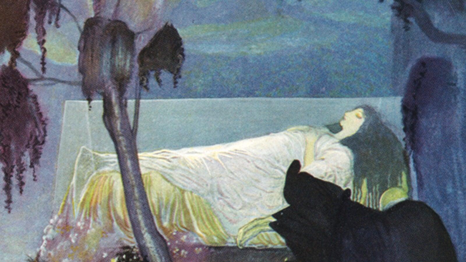 A 1923 illustration of Snow White