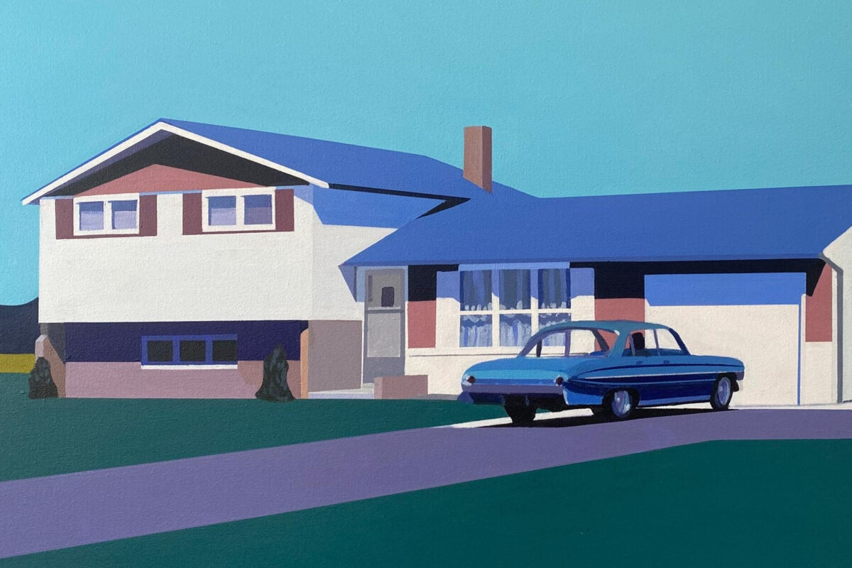 """Edge of Town"" by Jessica Brilli."