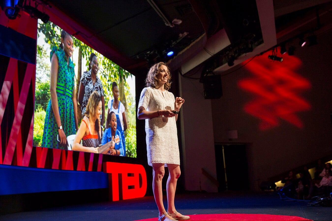 Pardis Sabeti speaks at TEDWomen.
