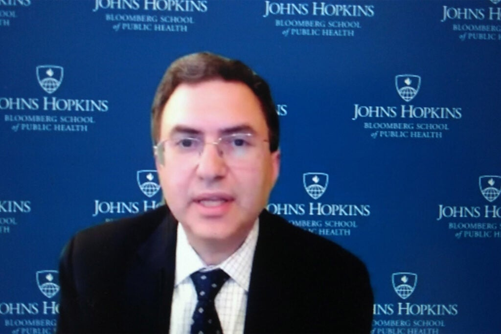 Joshua Sharfstein of the Johns Hopkins Bloomberg School of Public Health.