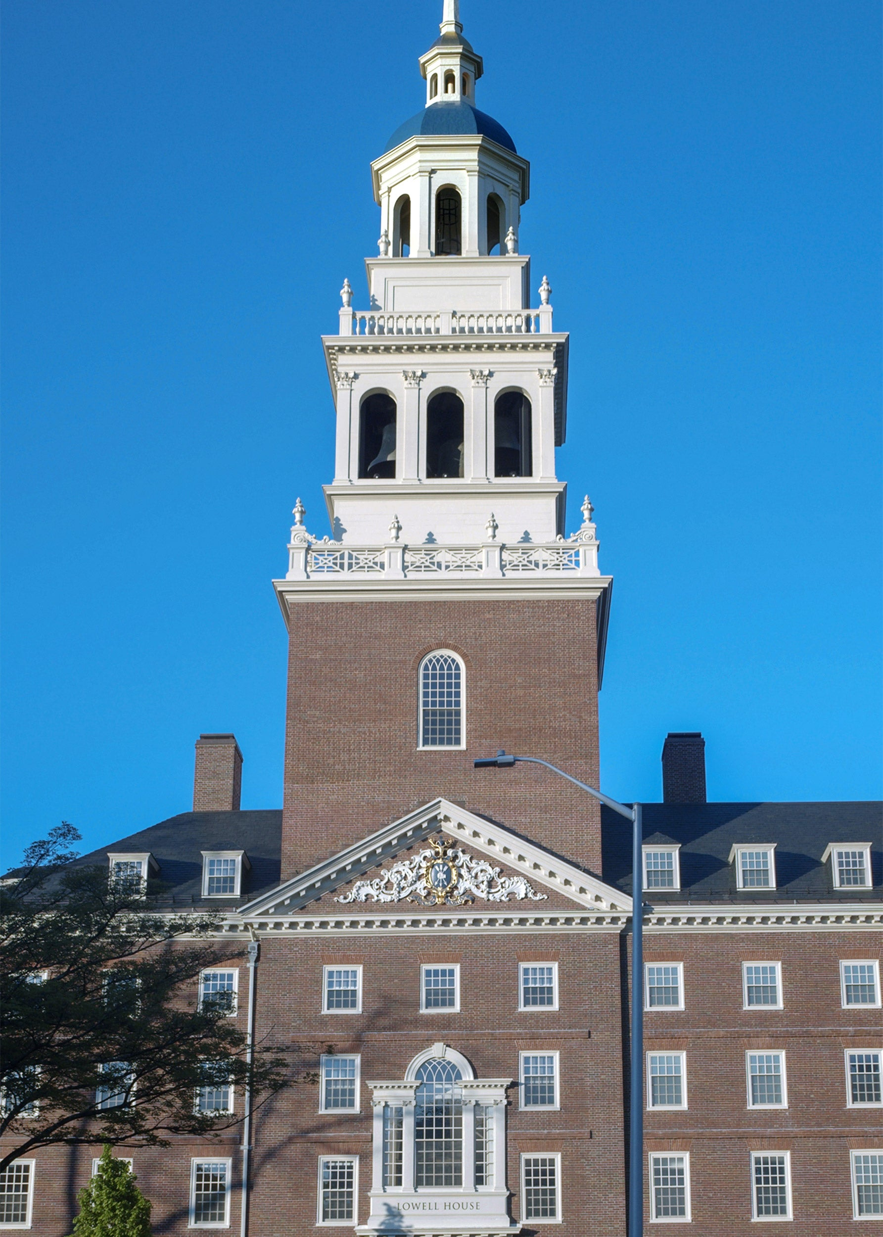 Lowell House bell tower.