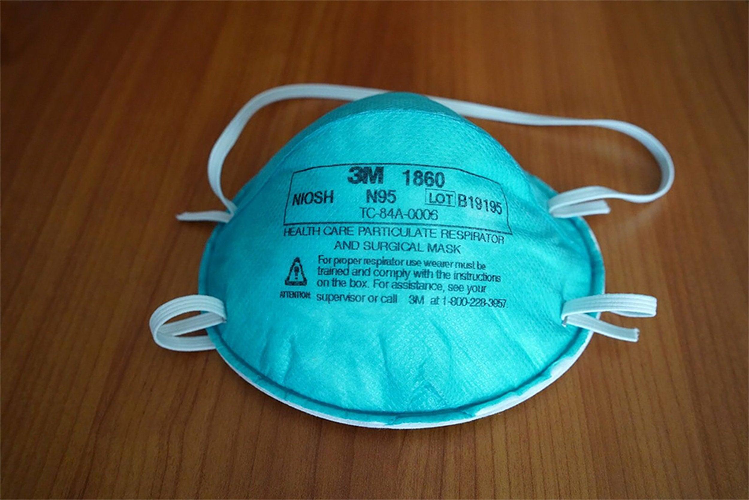 N95 mask.