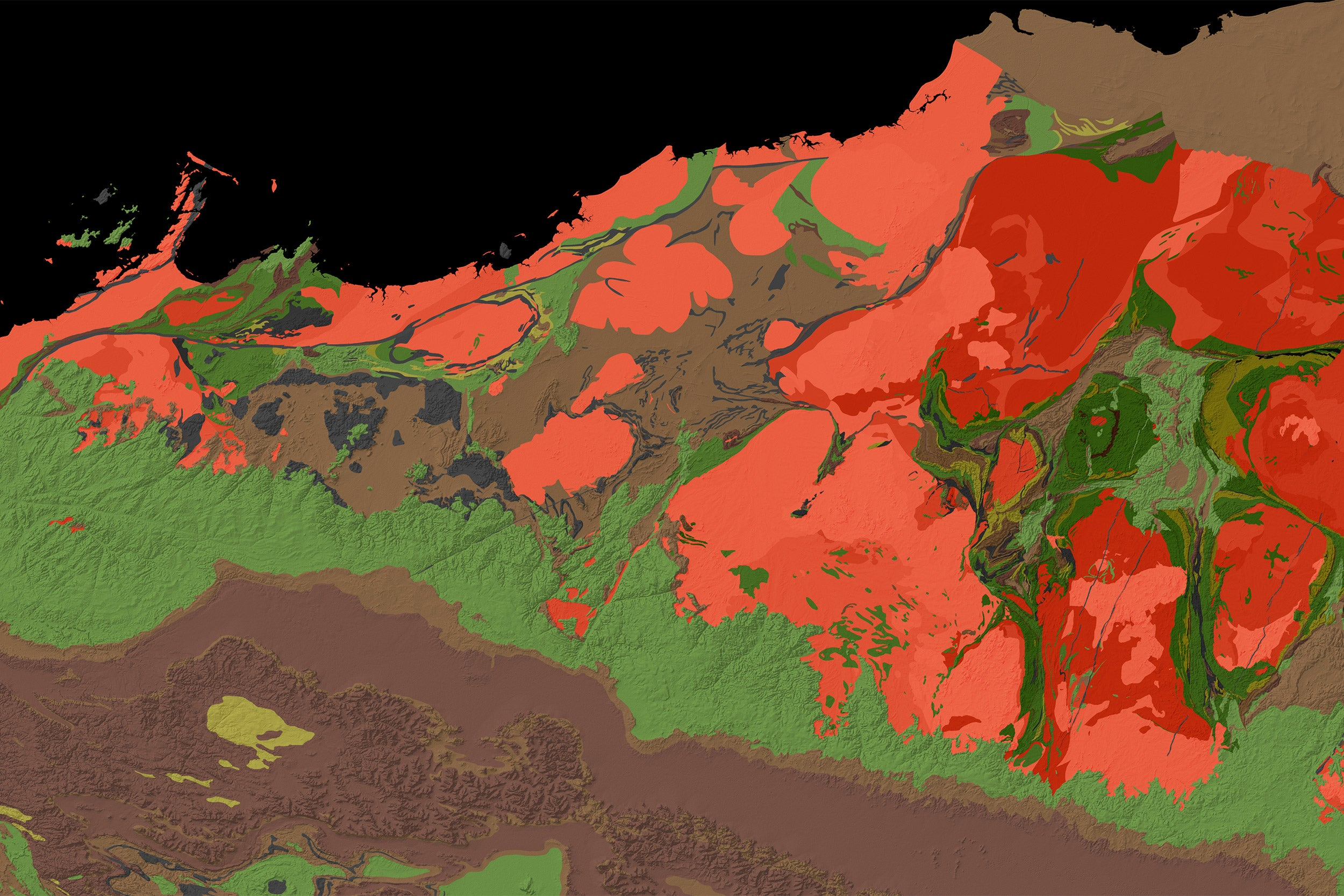 Geological map.