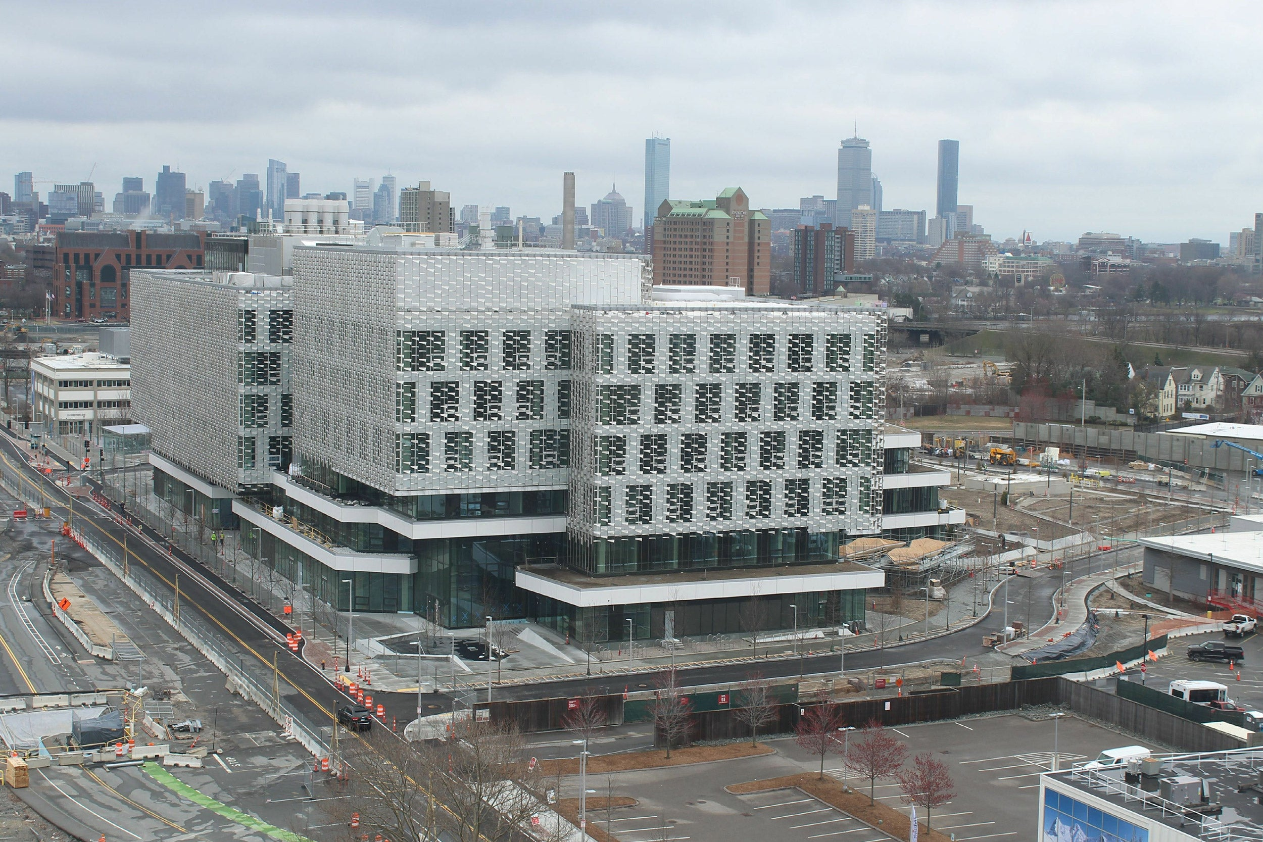 Harvard's new Science and Engineering Complex in Allston.