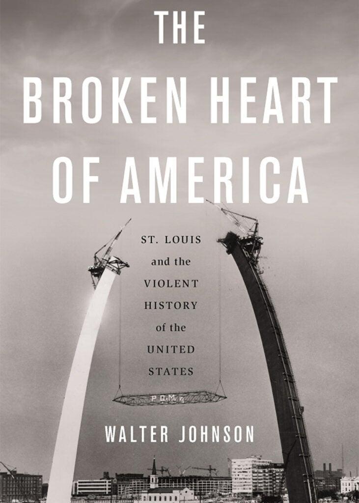 Book cover The Broken Heart of America.