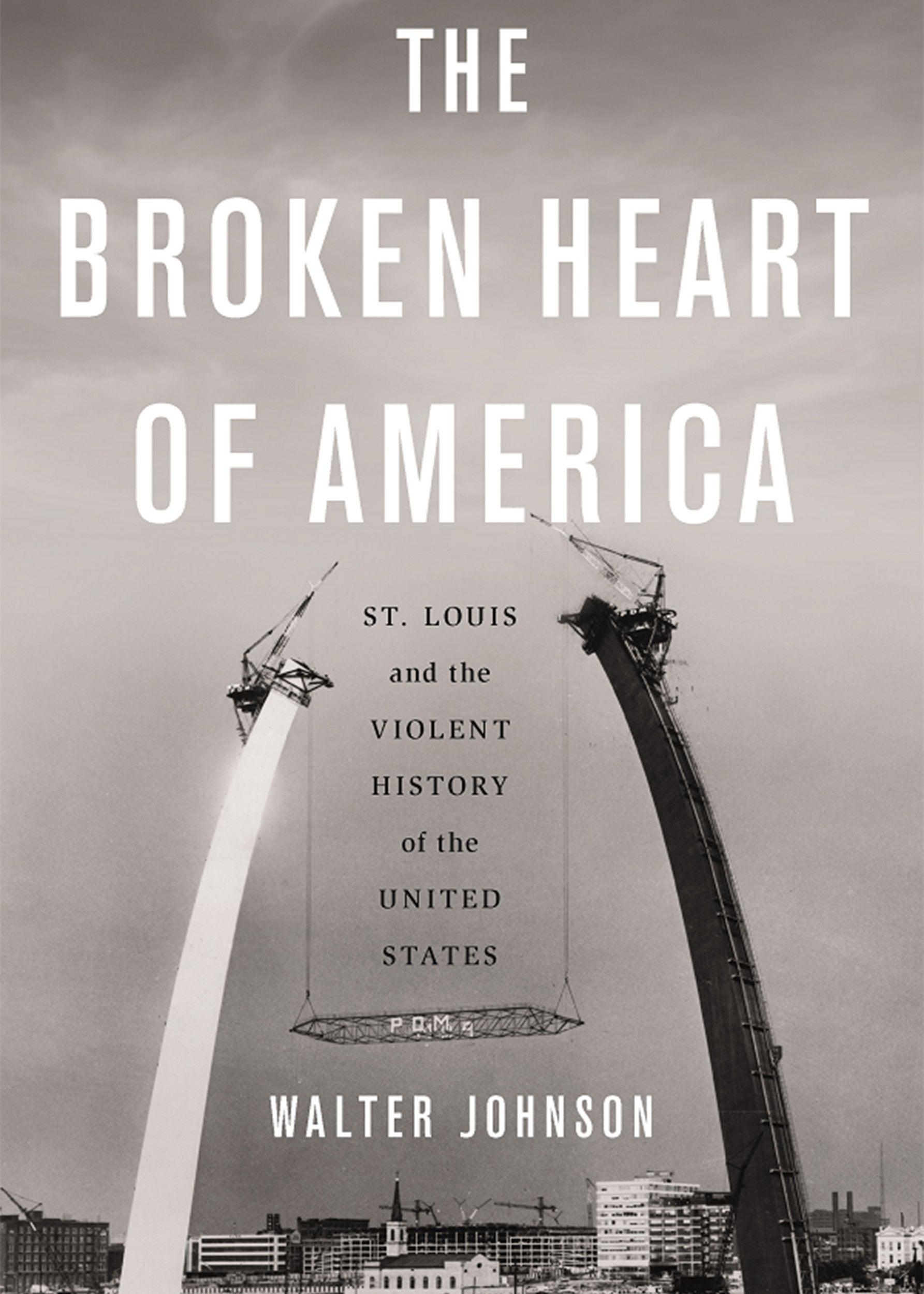 Book cover The Broken Heart of America.