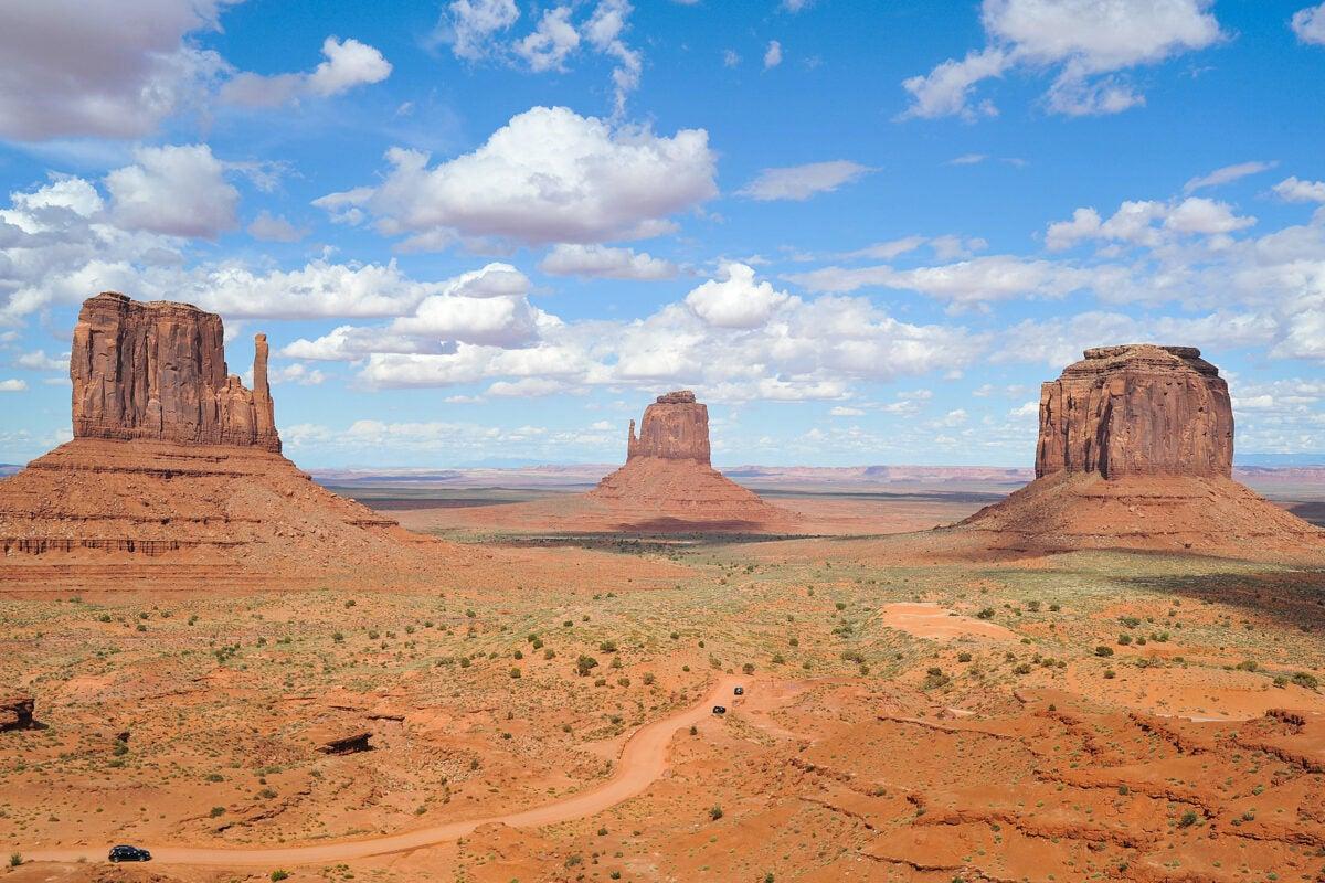Navajo Nation, Monument Valley, Arizona.