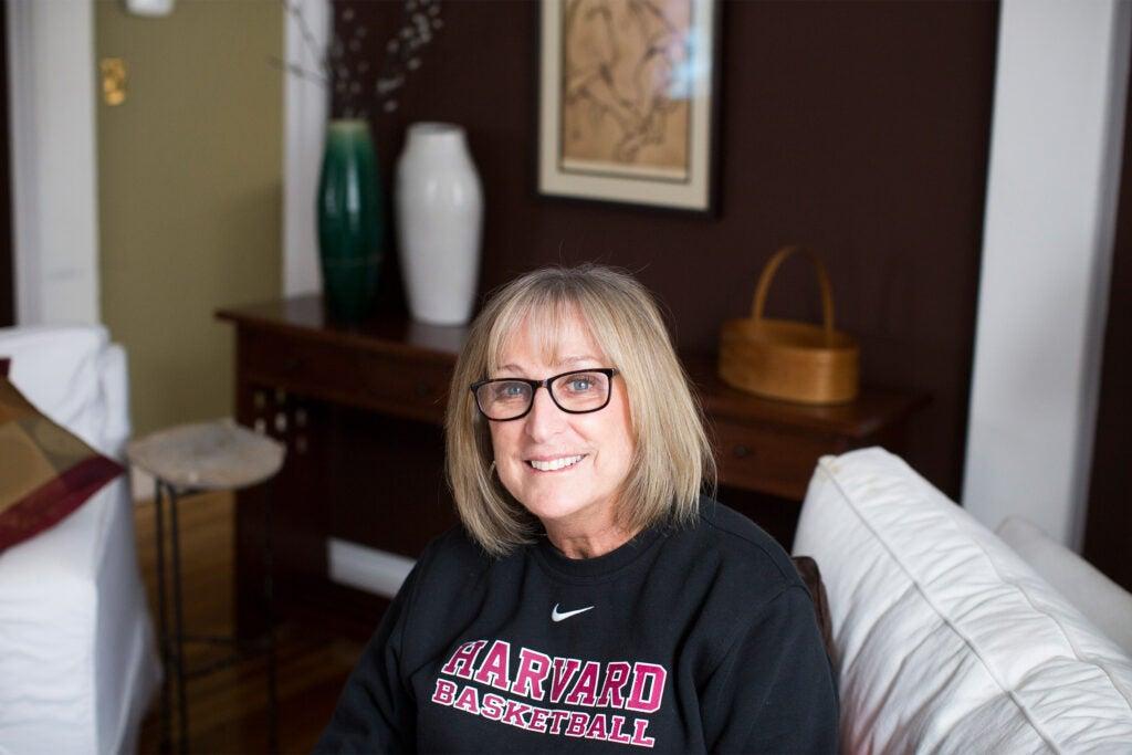 Coach Kathy Delaney-Smith.