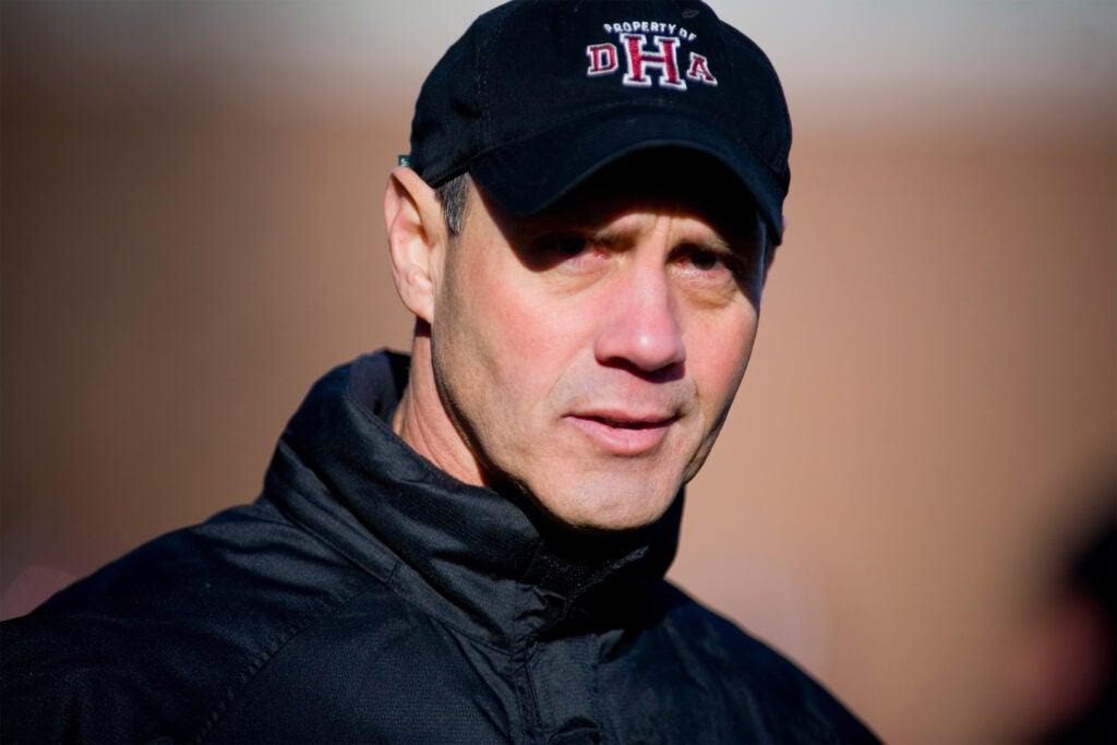 Coach Tim Murphy.