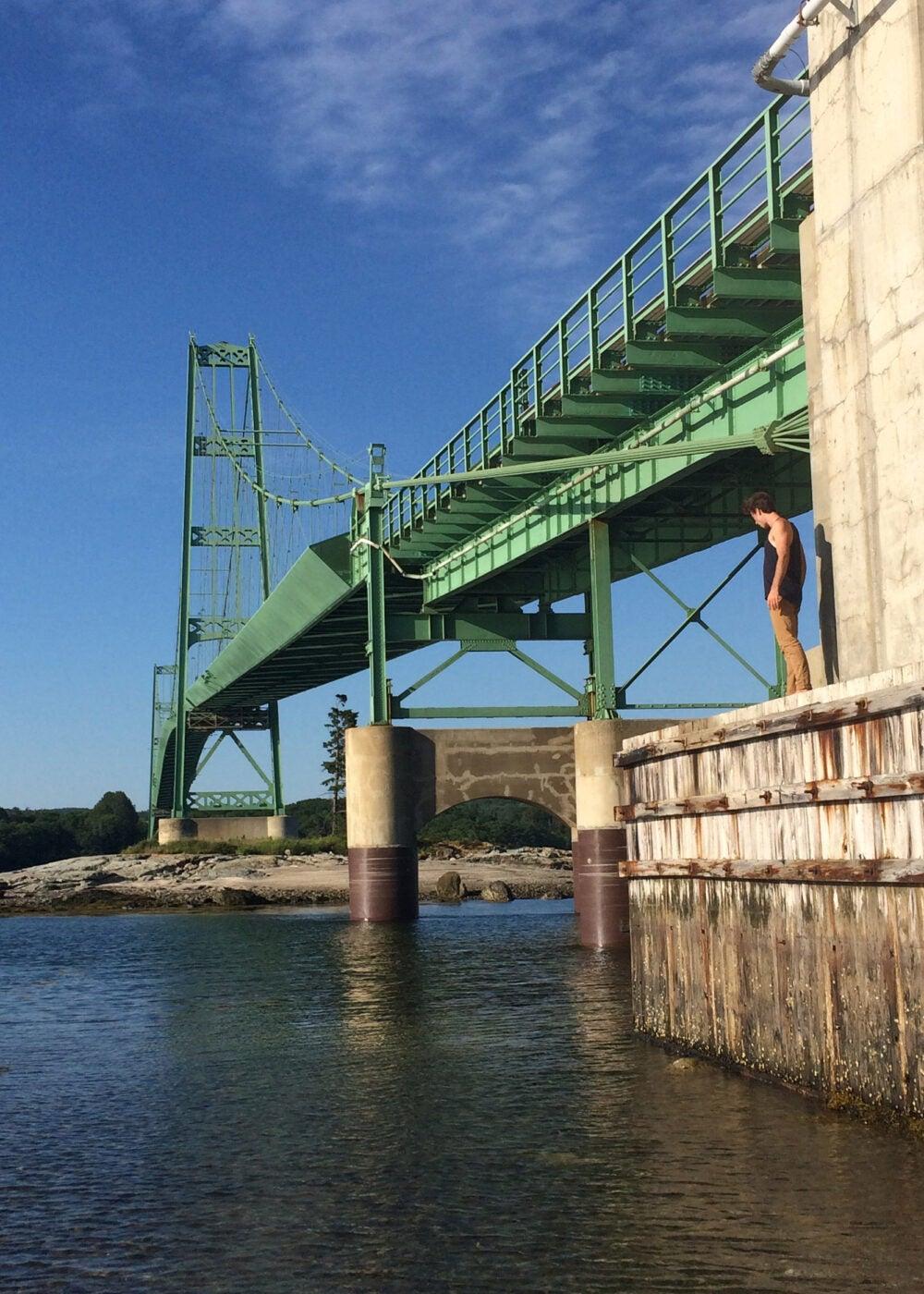 Deer Isle-Stonington Bridge.