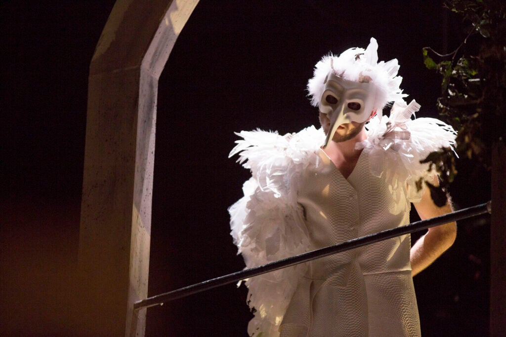 "The White Bird"" from TDM's THE OWL ANSWERS, fall 2017 production."