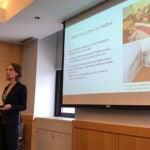 Katharine Robb giving presentation.