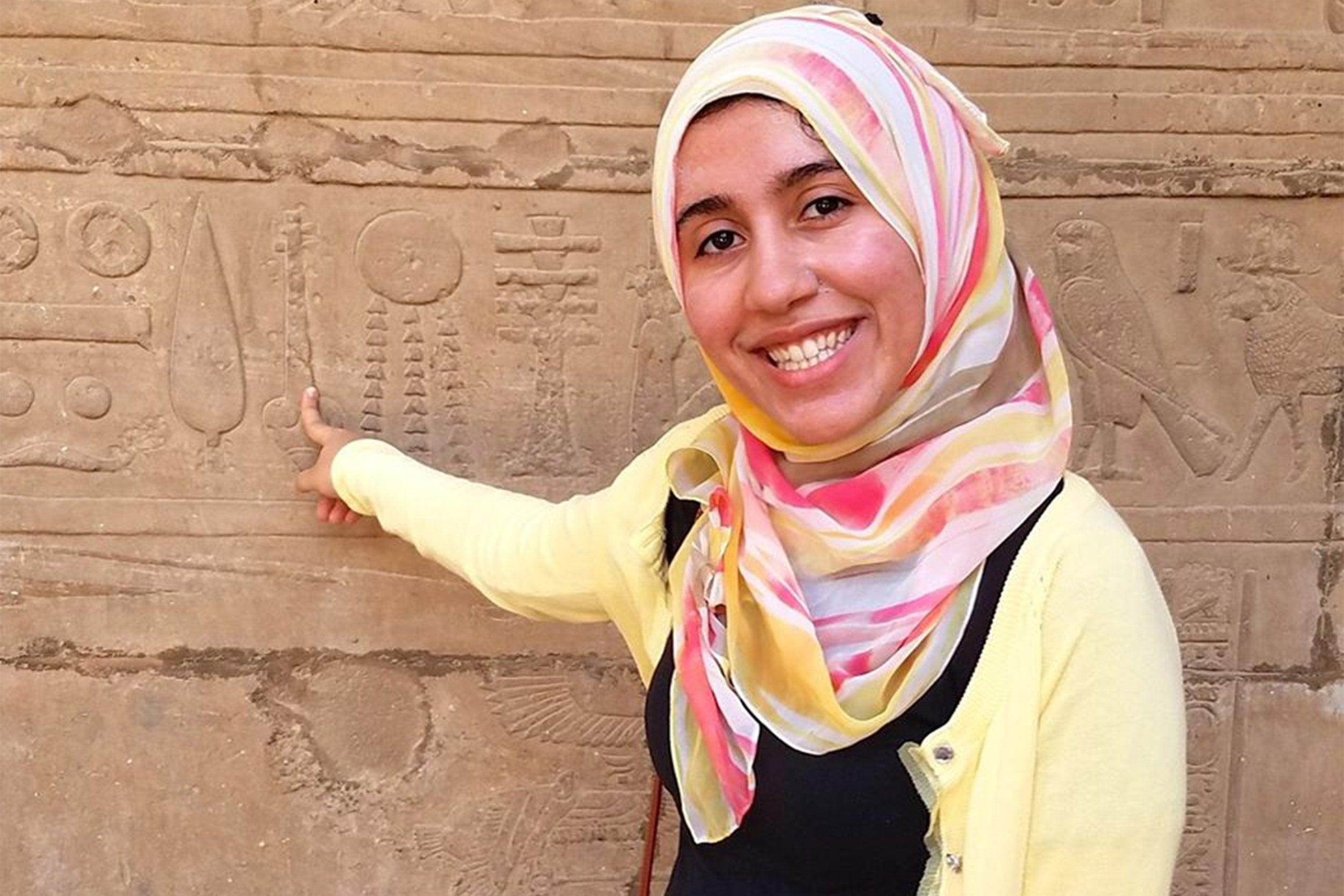 Rewan Abdelwahab in Egypt.