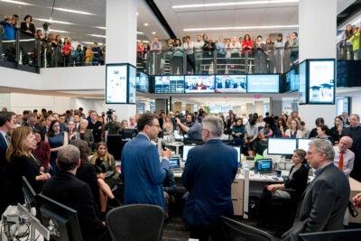 The Washington Post newsroom.
