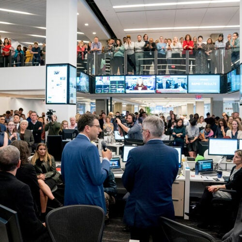 The Washington Post newsroom.