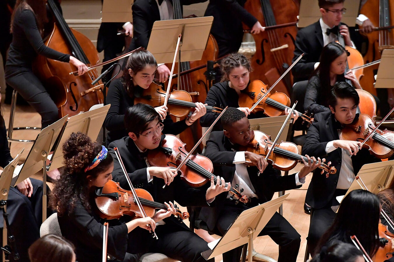 Boston Philharmonic Youth Orchestra performs.