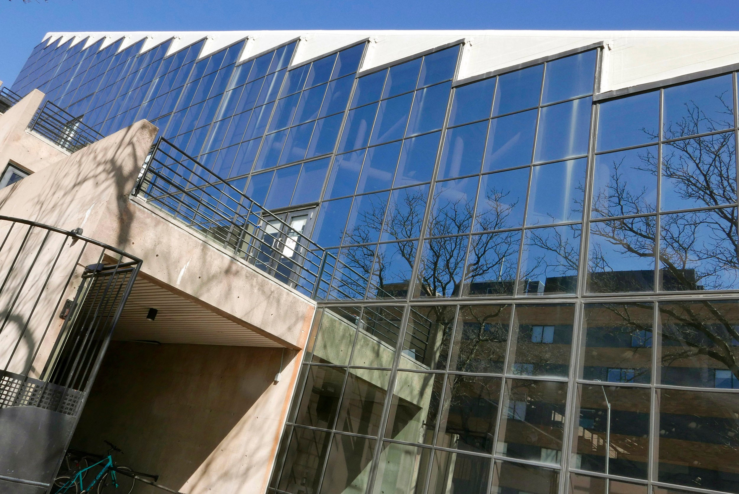 Gund Hall at Harvard School of Graduate Design.