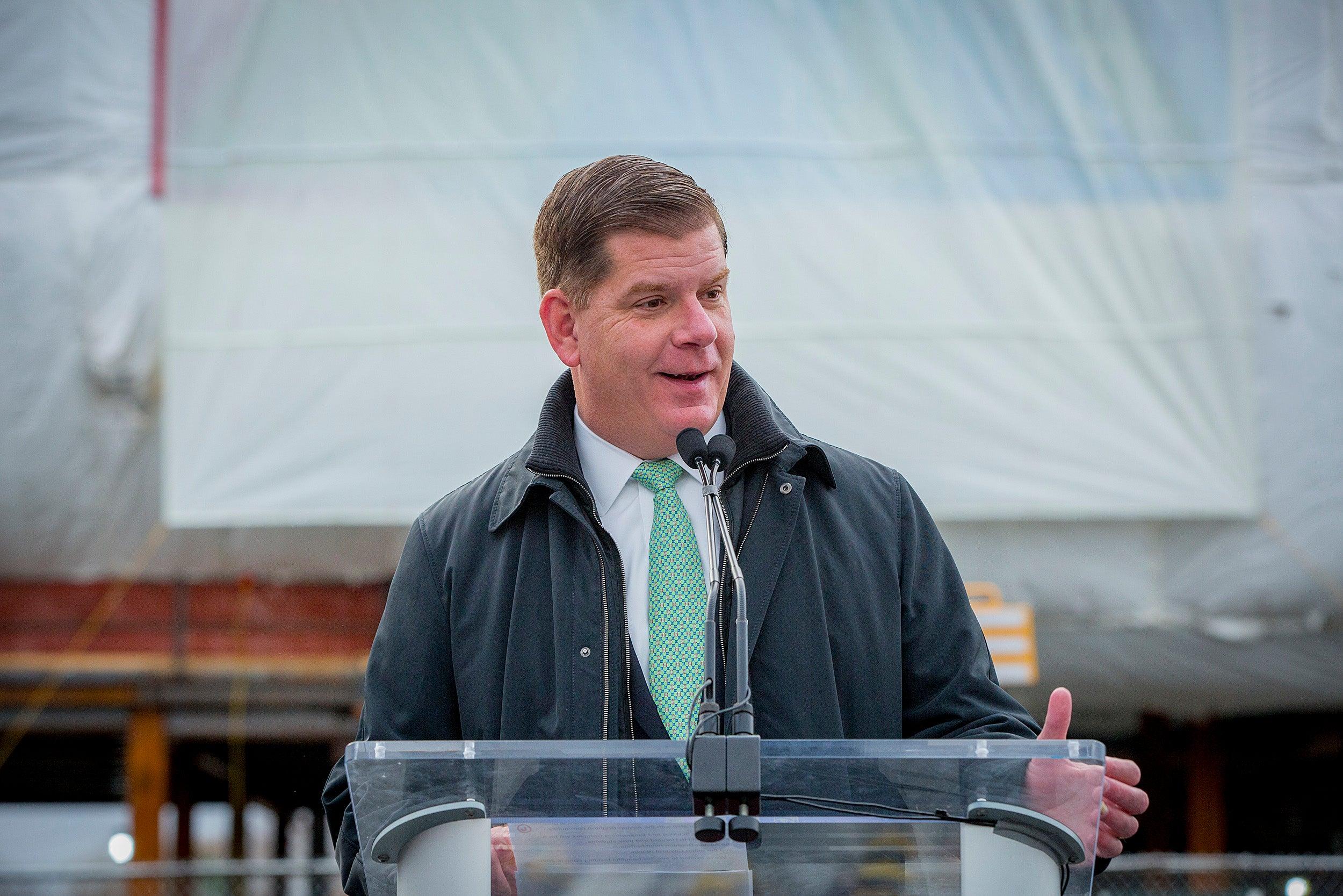Boston Mayor Marty Walsh.