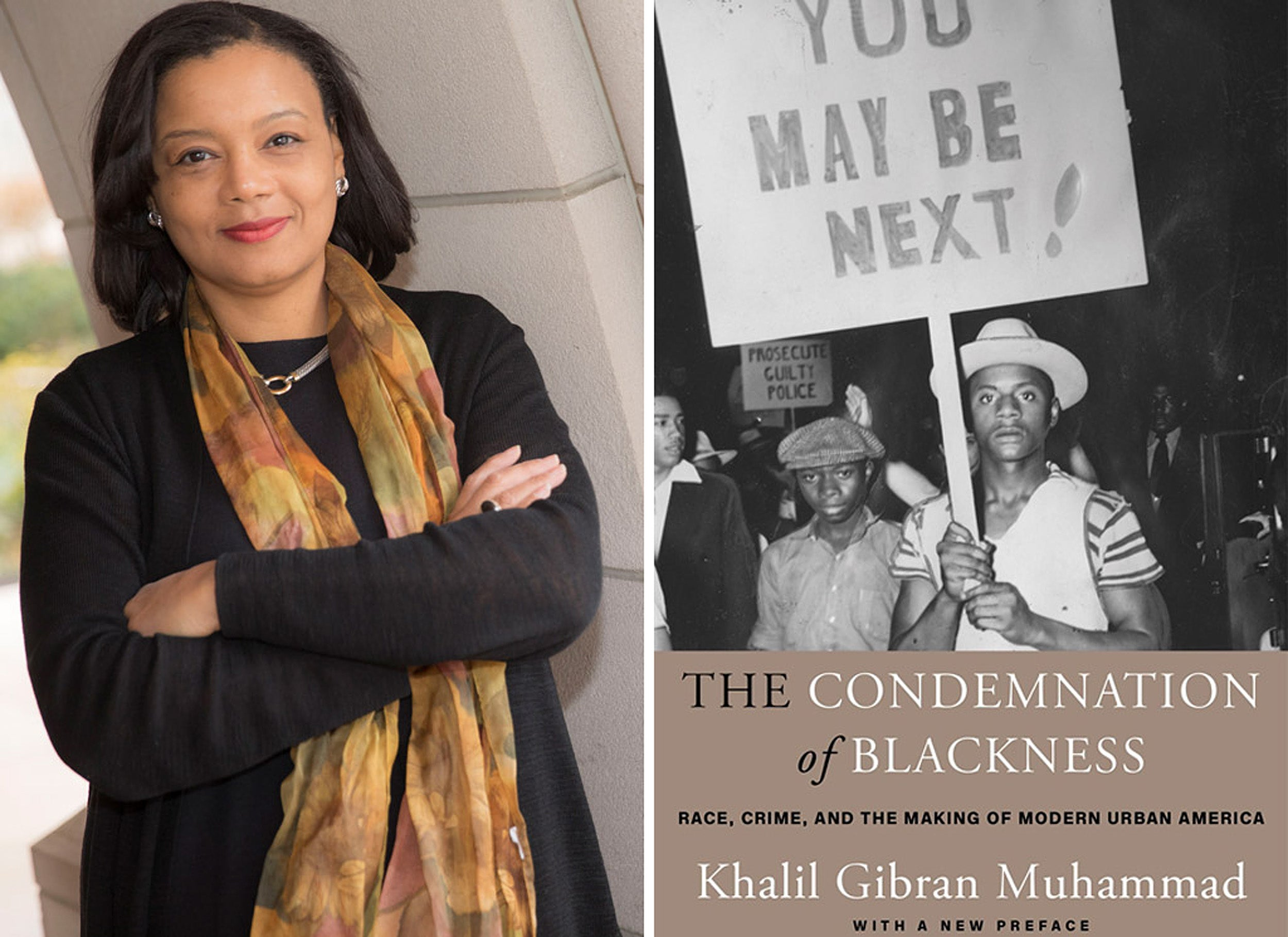 Tomiko Brown-Nagin and the Condemnation of Blackness book cover.