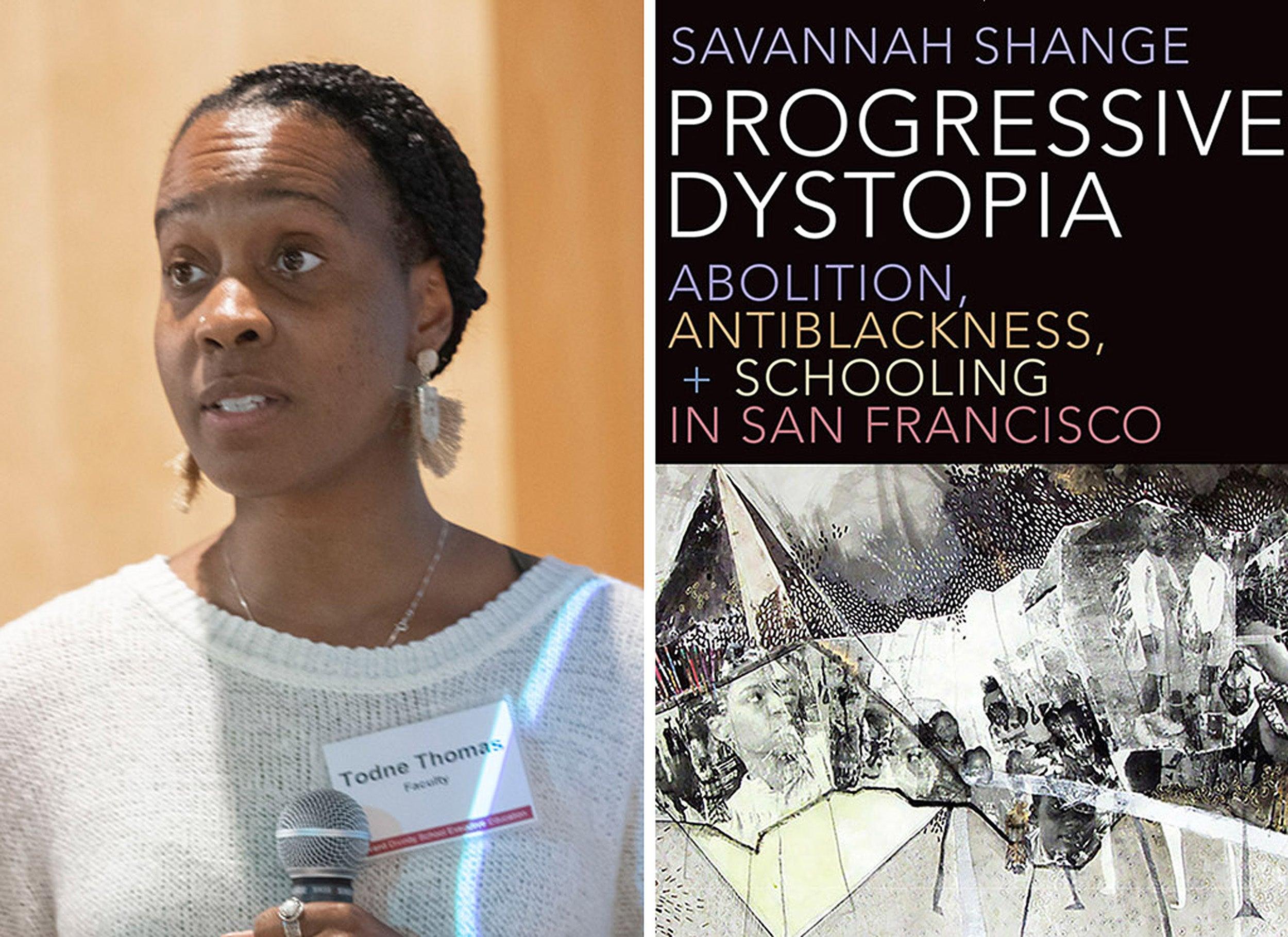 Todne Thomas and Progressive Dystopia book cover.