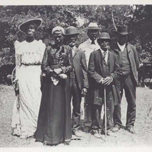 Juneteenth celebration, 1900.