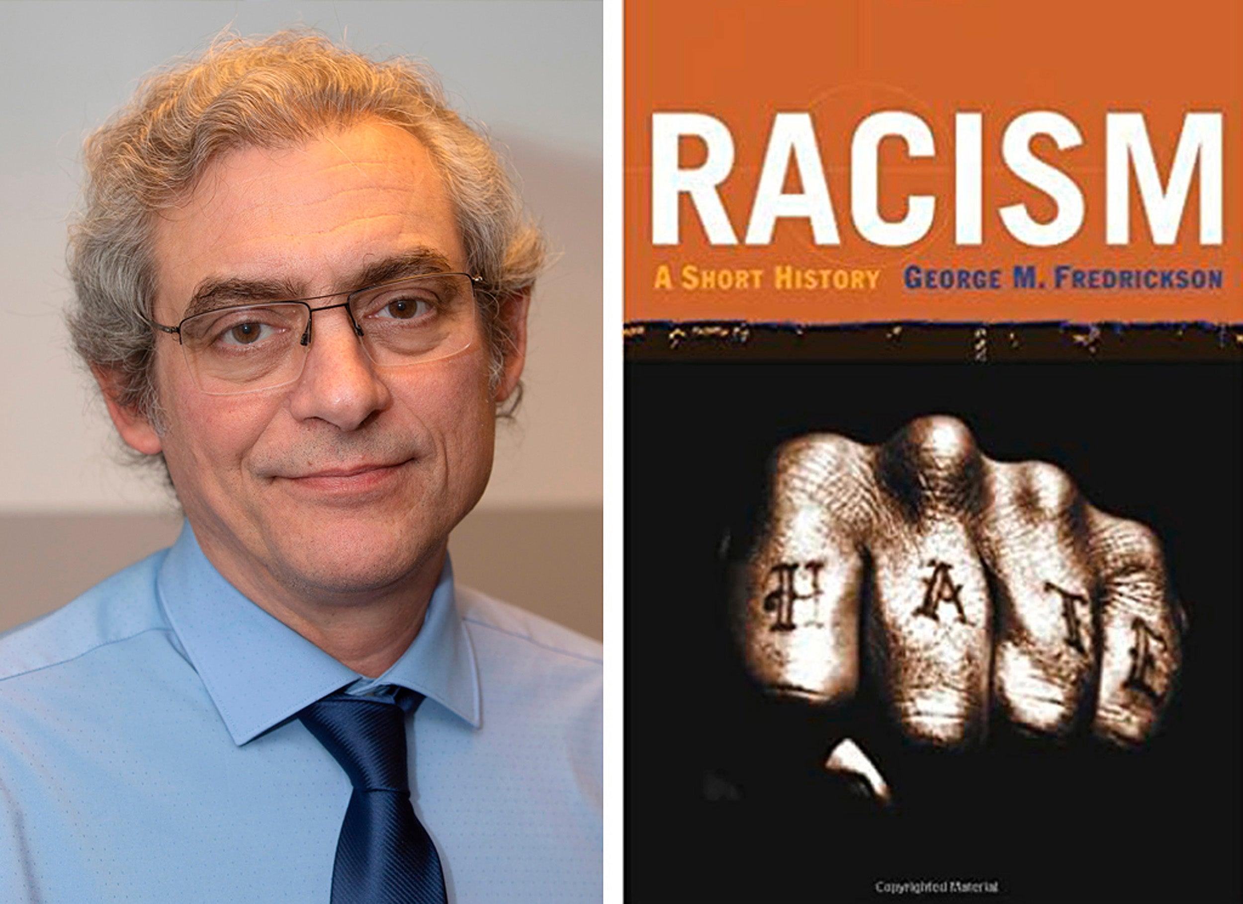 Alejandro de la Fuente and Racism book cover.