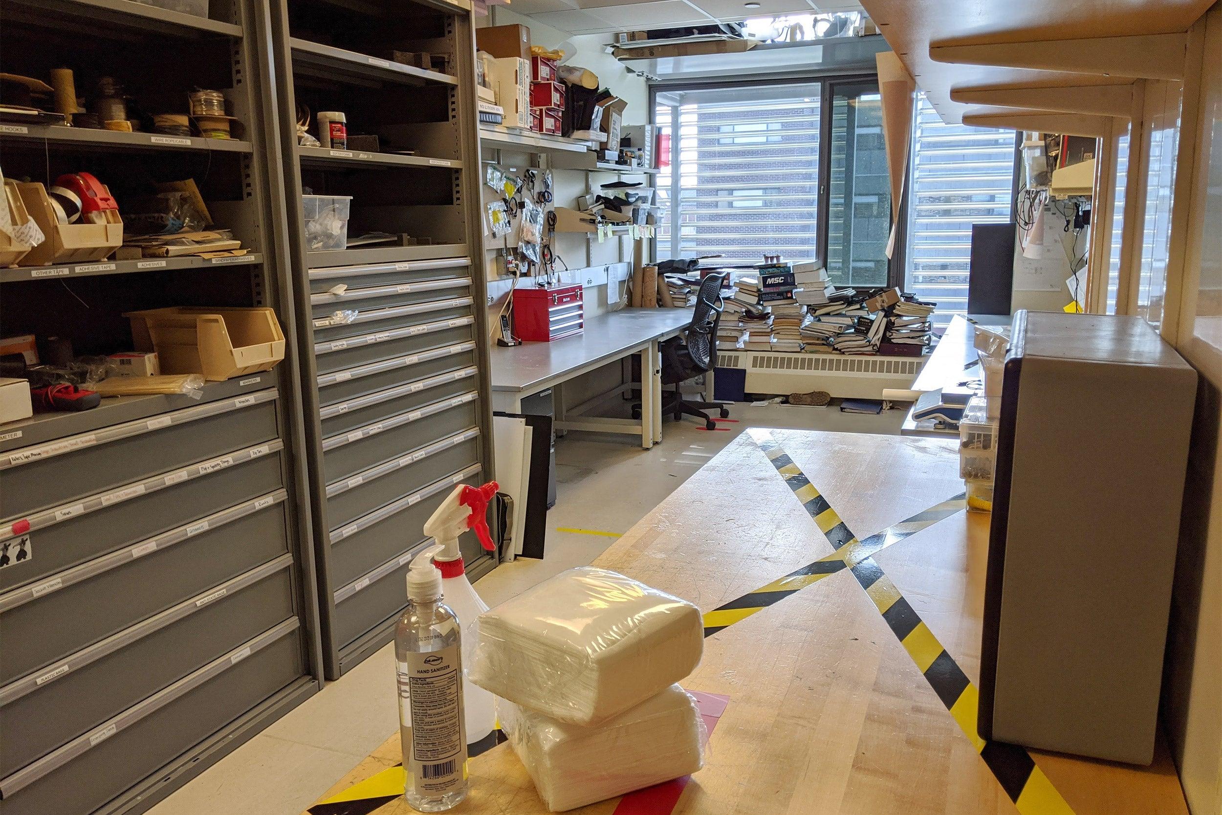 Empty bio lab.