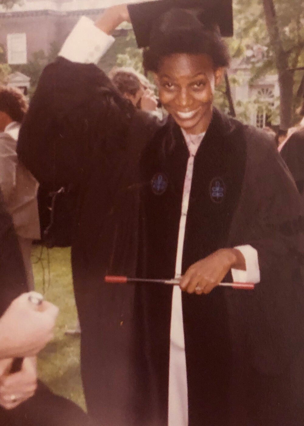 Deborah Brown at graduation.
