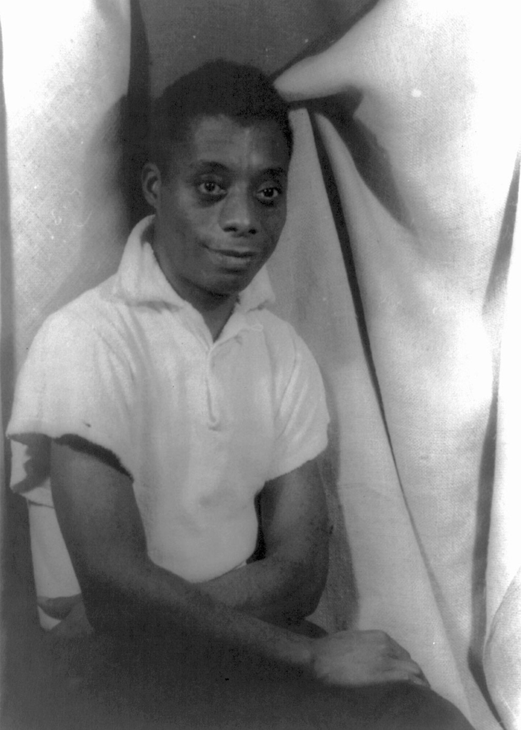 Young James Baldwin.