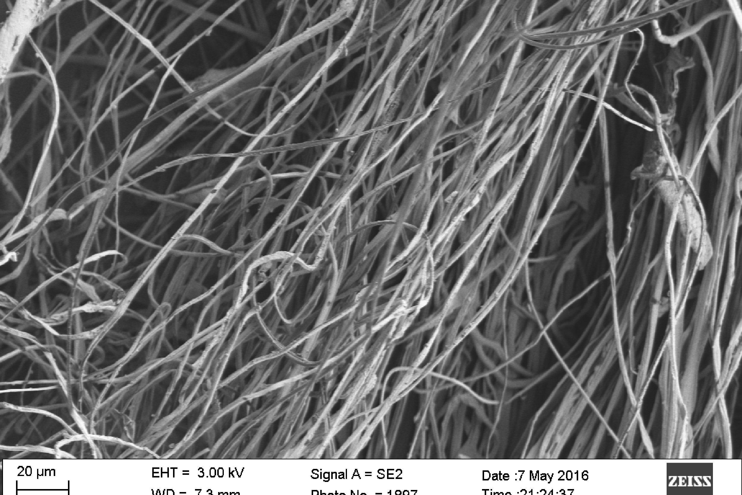 Para-aramid nanofibers.