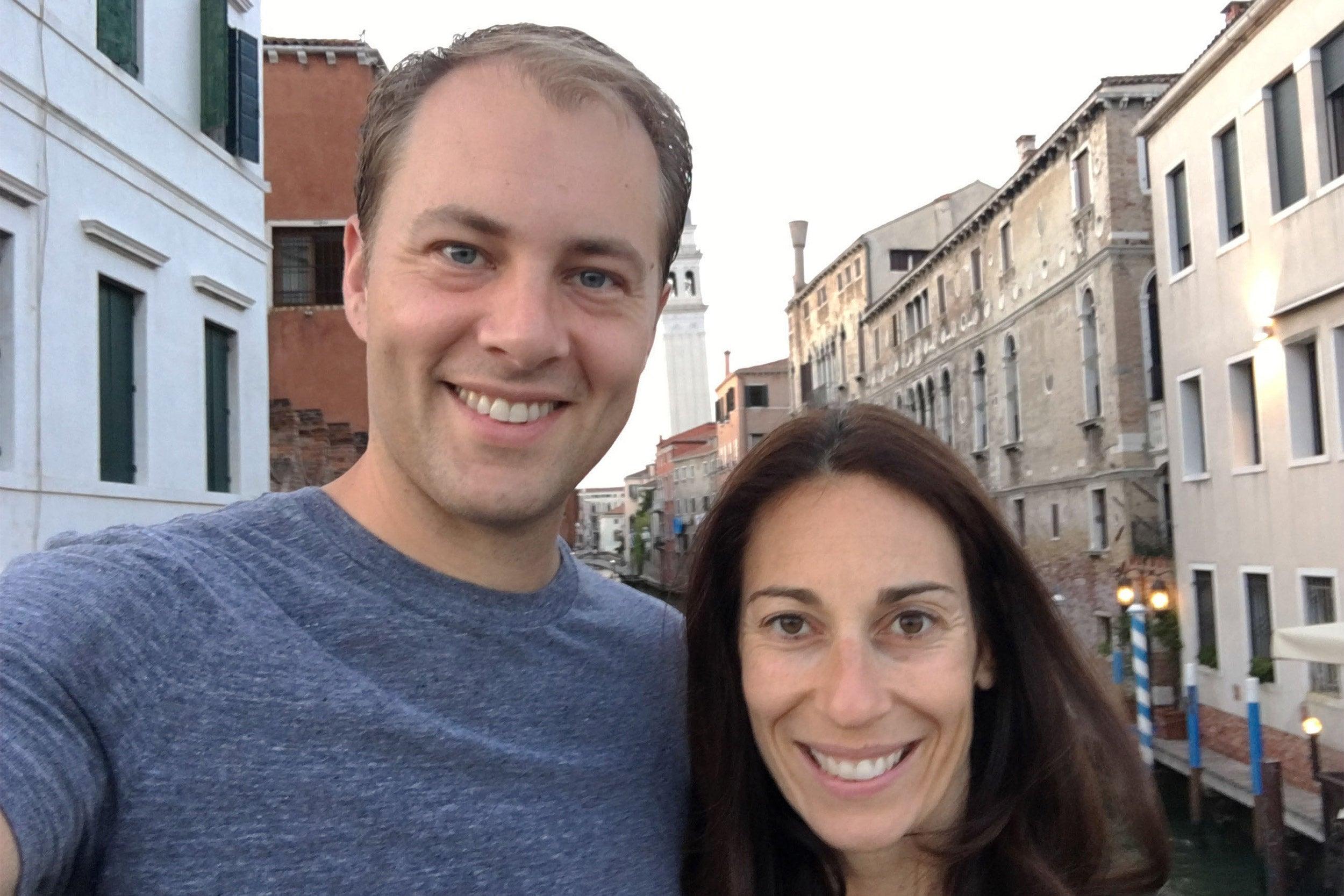 David Deming and Janine Santimauro.