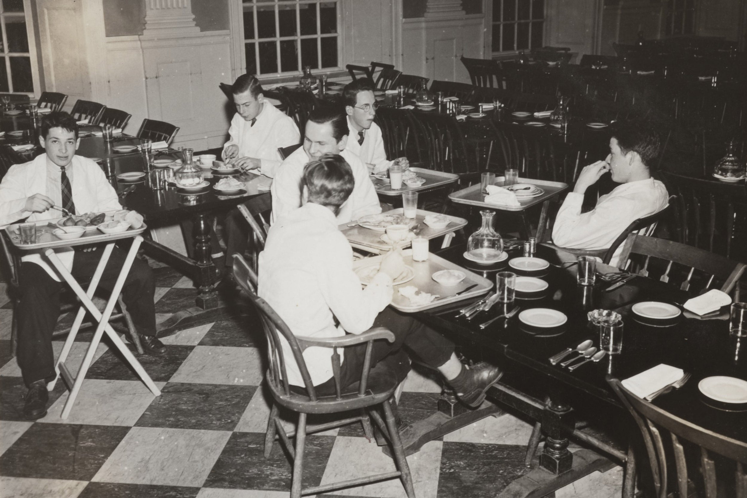 Looking back at dining on campus through the years